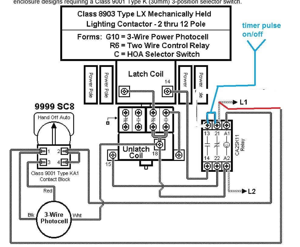 Lighting Contactor Wiring Diagram With cell Attachment Arresting Diagrams And