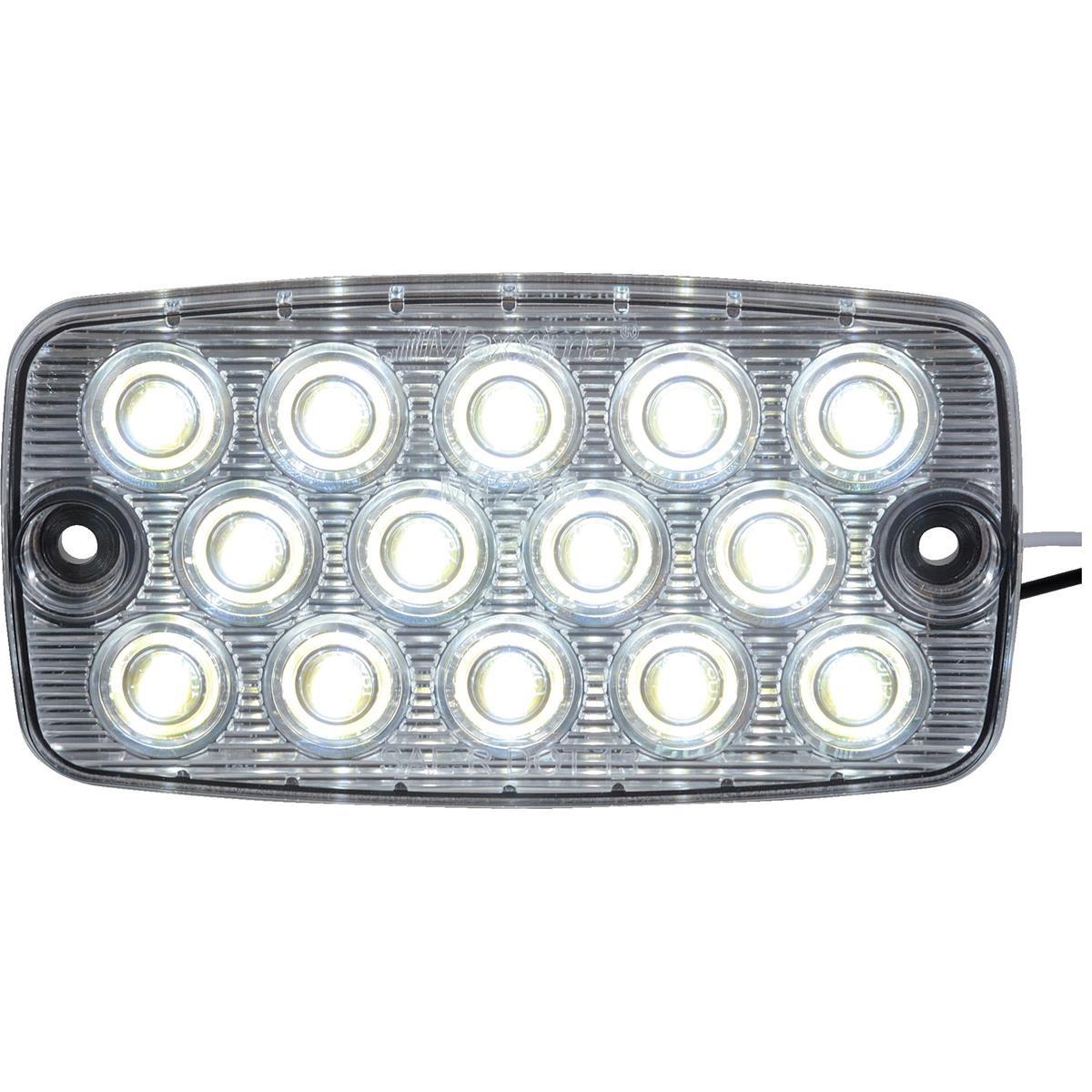 "MAXXIMA LED Low Profile Courtesy Light White 4 1 2""L x 2 1 2"