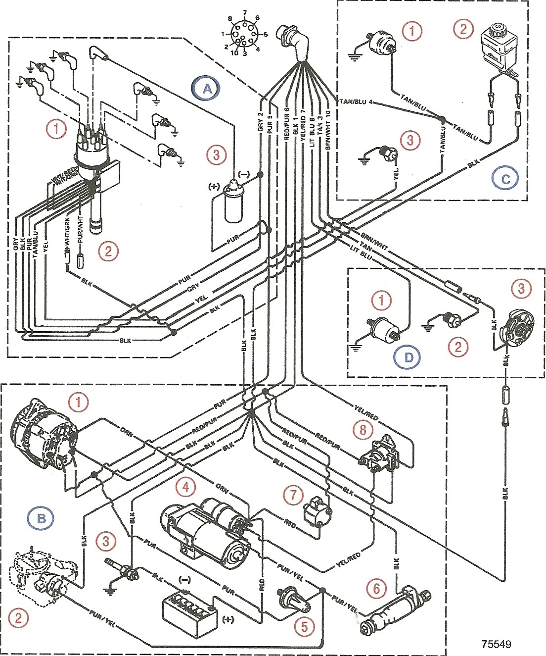 Trim Pump Wiring Diagram Schematics Diagrams Bennett Tabs Harness Mercruiser 3 0 Somurich Com Tab