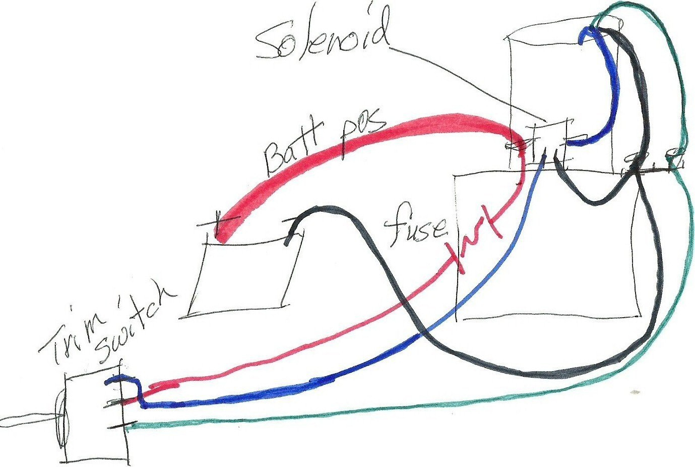 diagram mercruiser trim pump wiring diagram mercury black max 150 rh inewr today