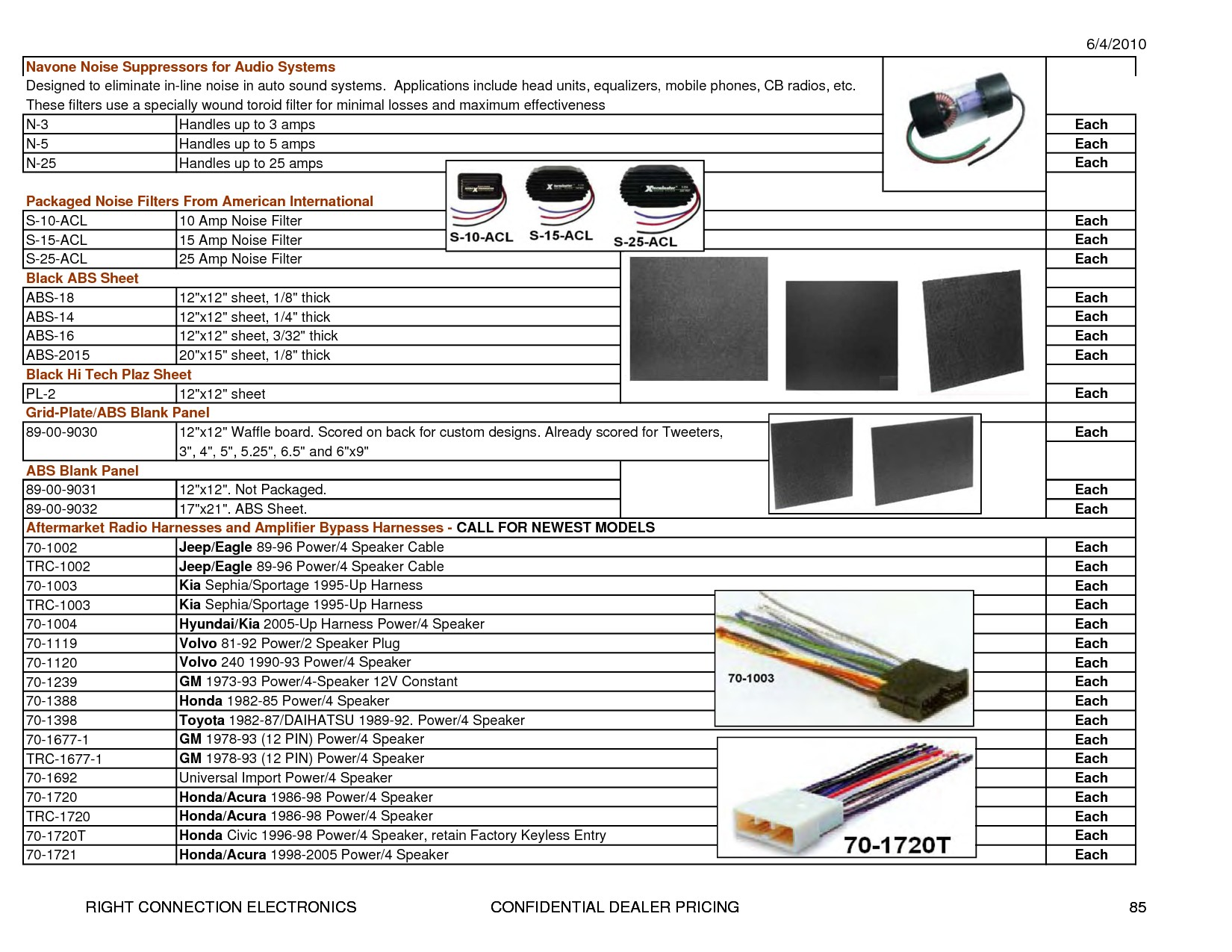 Metra 70 2104 Radio Wiring Harness For 06 Up Gm : Metra stereo wiring diagram library