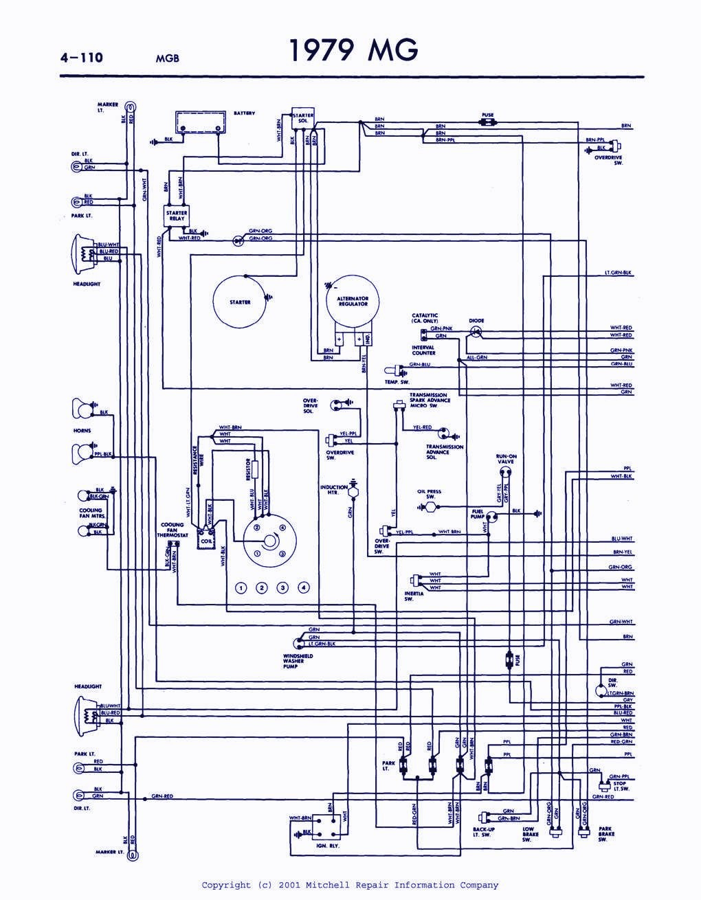 wrg 4671] mgb engine diagram 74 MGB Wiring-Diagram mgb wiring schematic books of wiring diagram \\u2022 mgb overdrive wiring 1977 mg mgb wiring