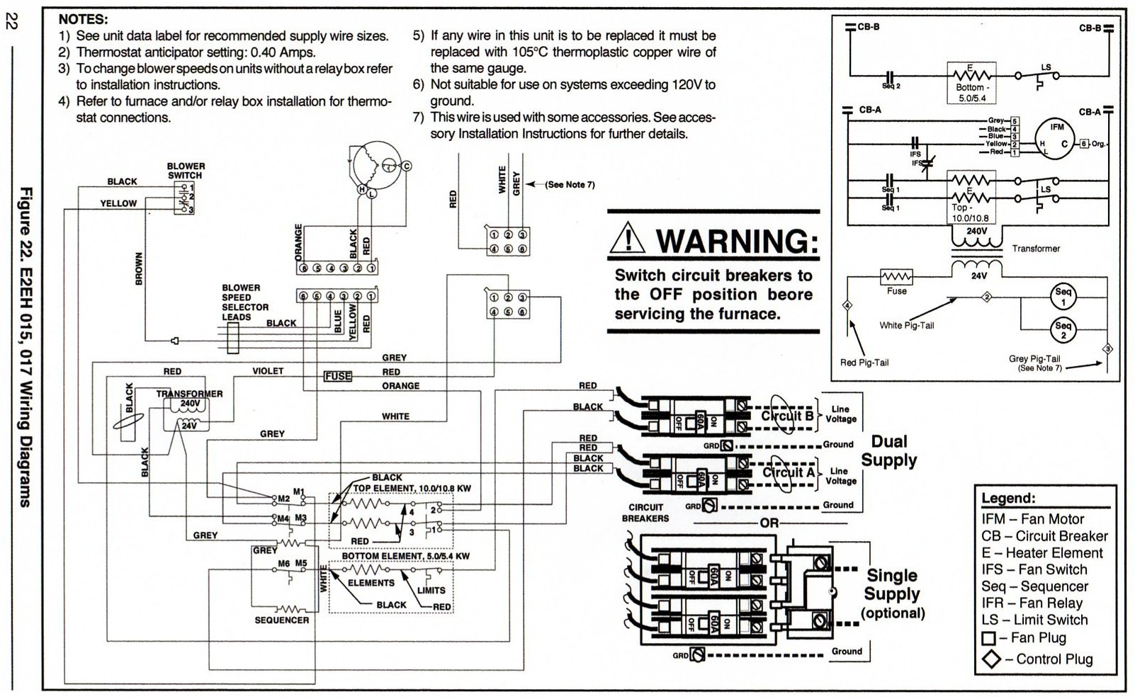 Electrical Wiring Intertherm Electric Furnace Diagram With Miller