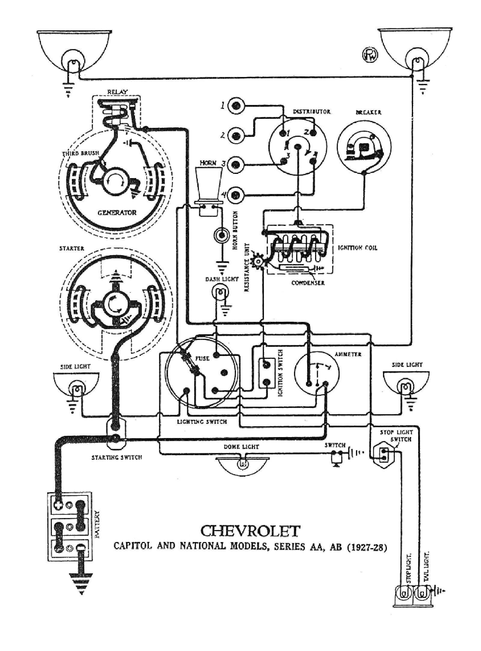 Model T Wiring Diagram | Wiring Diagram Image