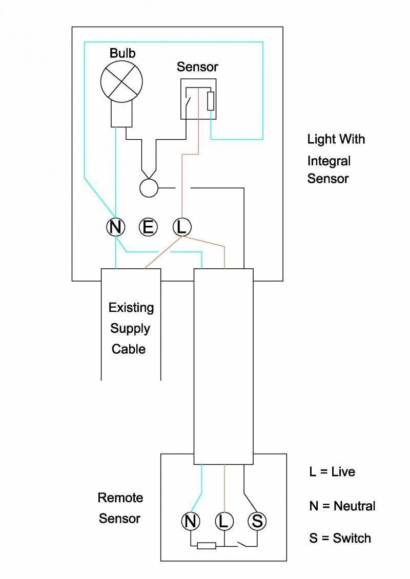 Motion Sensor Lights Wiring Diagram New Light Switch