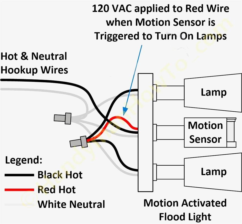 Wiring Diagram For Motion Light Sensor Unusual