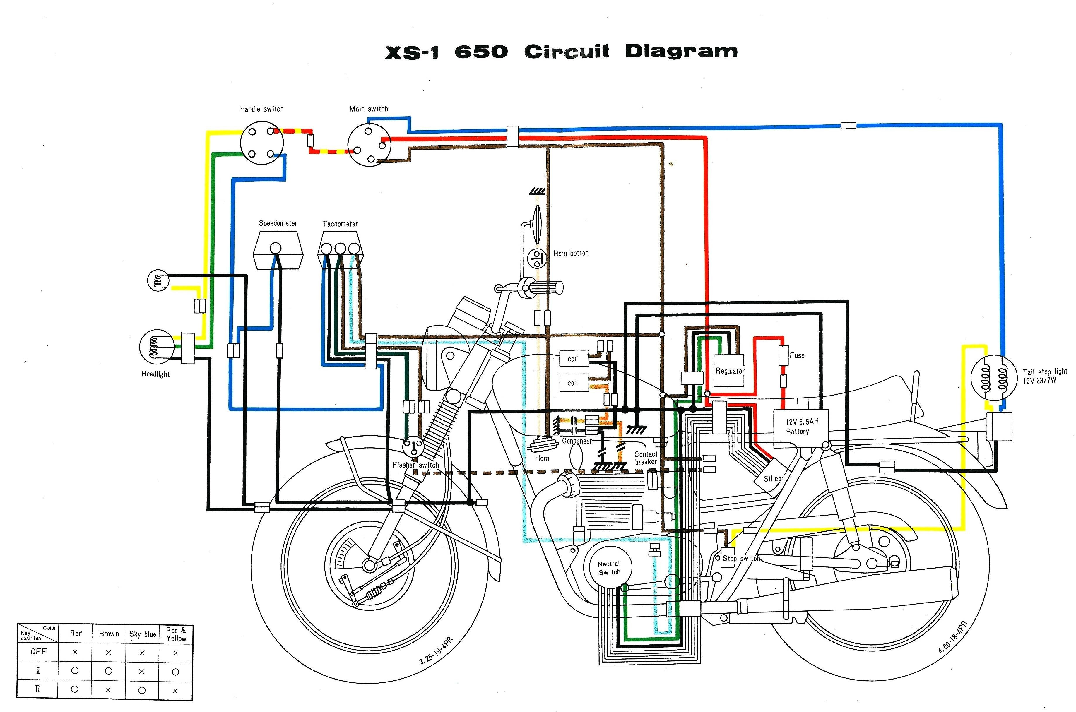 Motorcycle wiring diagram free download library