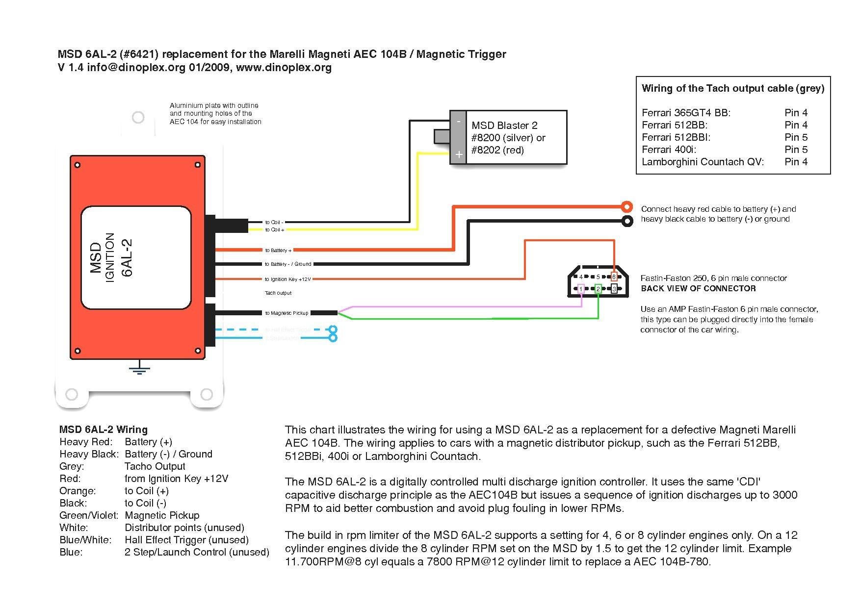 Msd 6a Wiring Diagram New Unique Ignition 6al 2 Inspiration