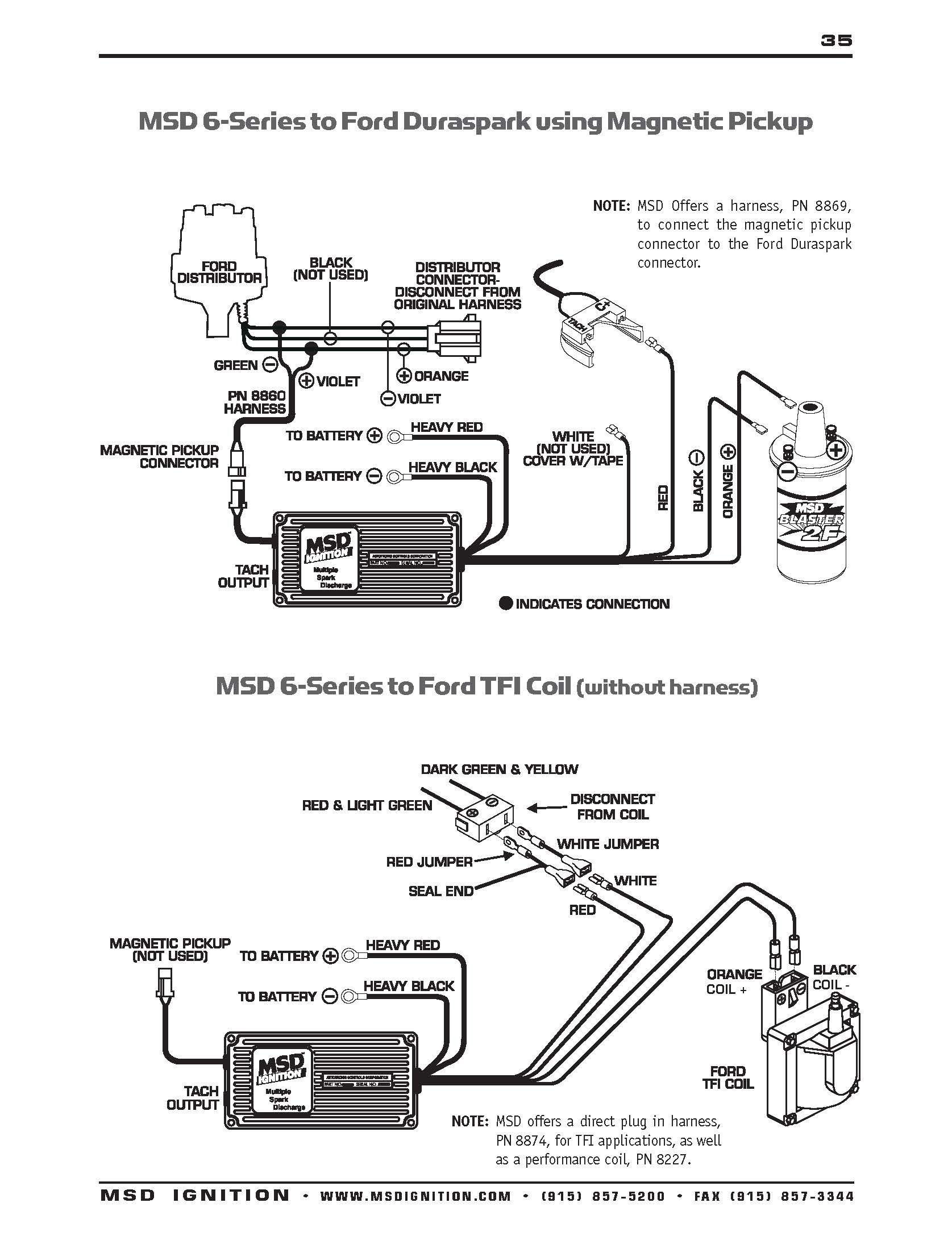 msd 6al 2 wiring releaseganji net rh releaseganji net ford msd wiring diagram MSD 6AL 6420 1978 Ford Wiring Diagram