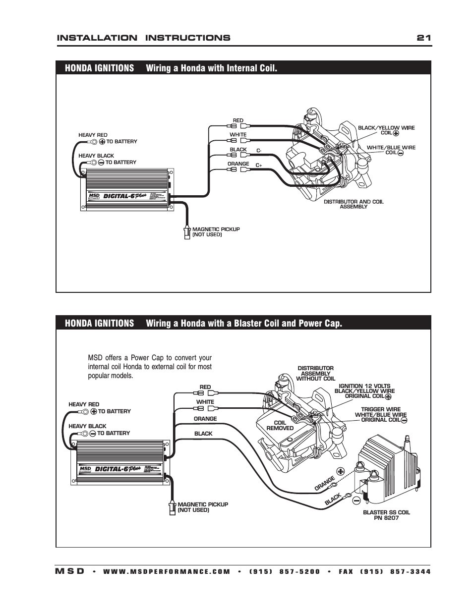 Msd Pn 6425 Wiring Diagram 6520 Digital 6 Plus Ignition With For Alluring