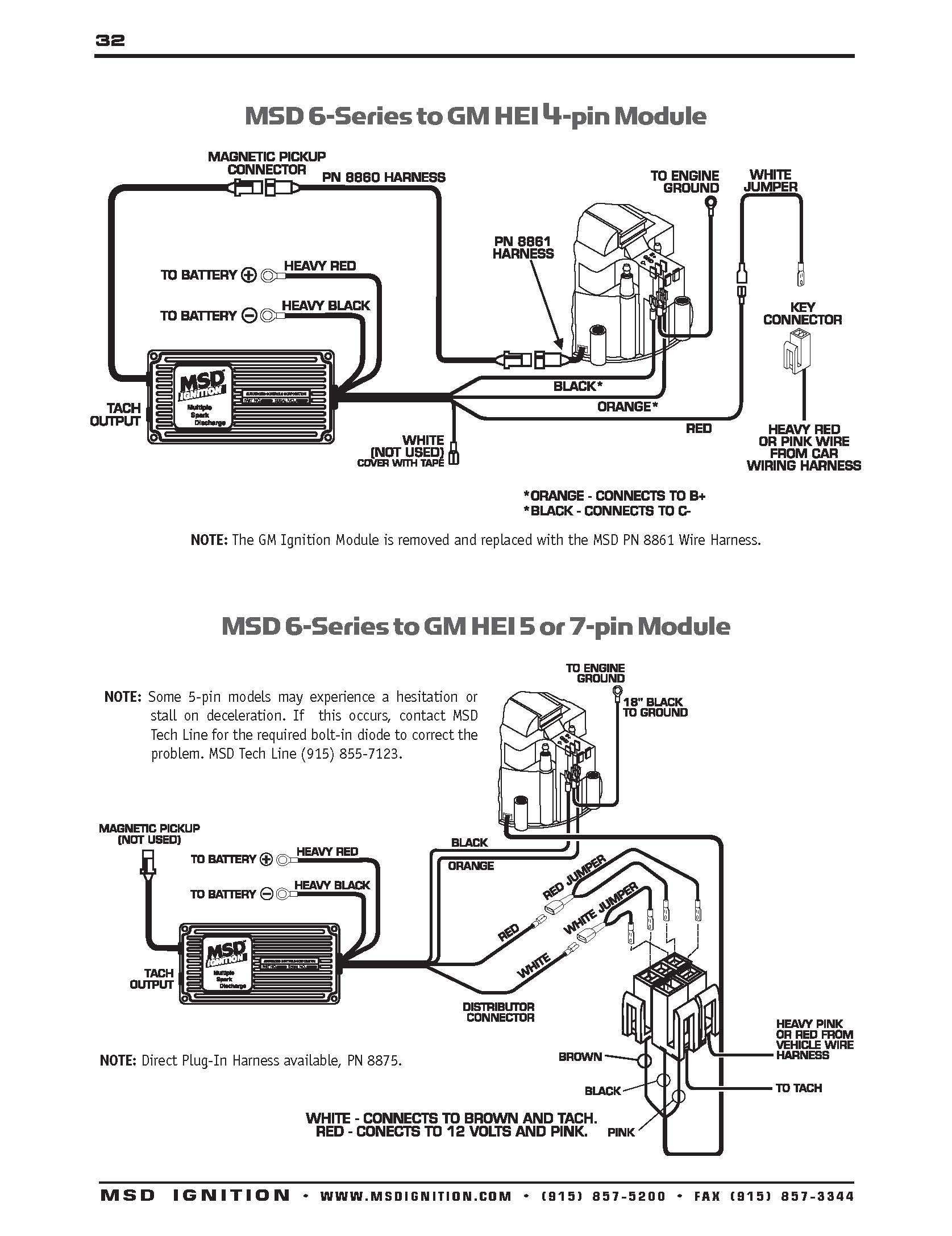 User Manual Msd 6al Wiring Diagram Chevy Hei Within Msd 6Al Wiring Diagram