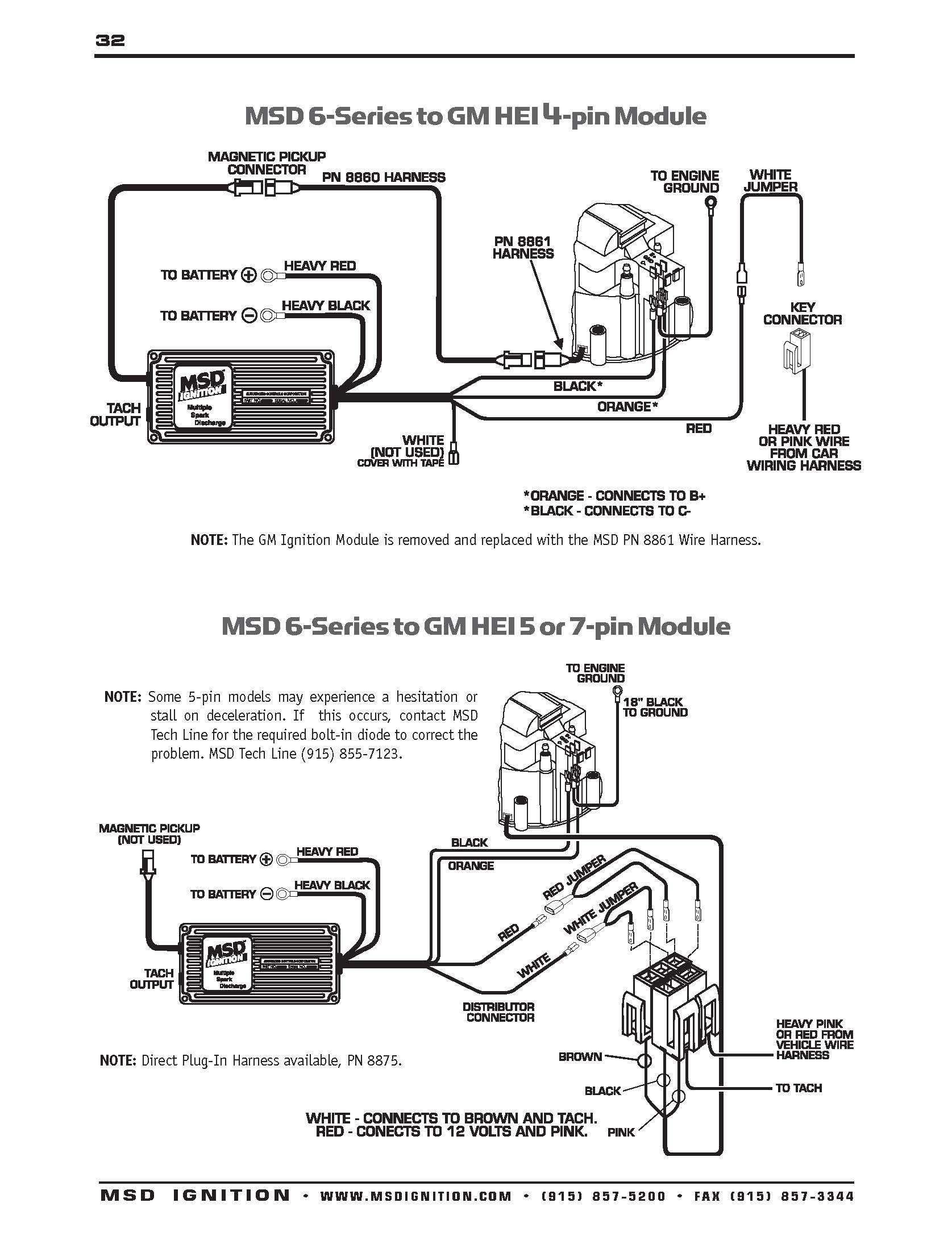 User Manual Msd 6al Wiring Diagram Chevy Hei Within Msd 6Al Wiring Diagram