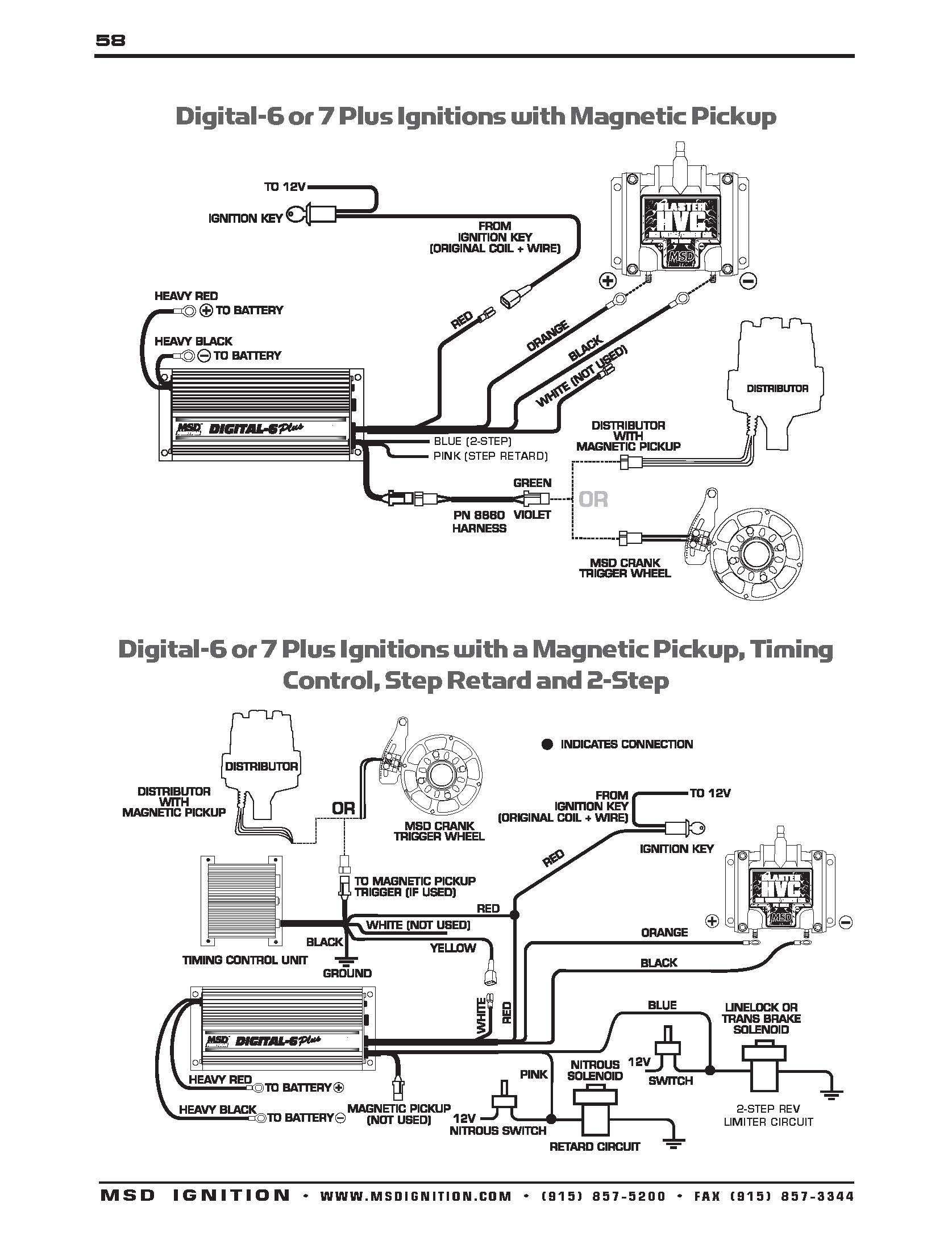 Msd Box Wiring Diagram How To Install 6al Hei Distributor And Ignition With