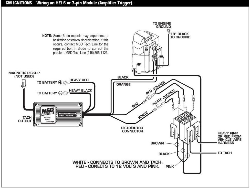 msd ignition 6al wiring diagram chevy wire center u2022 rh insurapro co MSD 6A Wiring Diagram