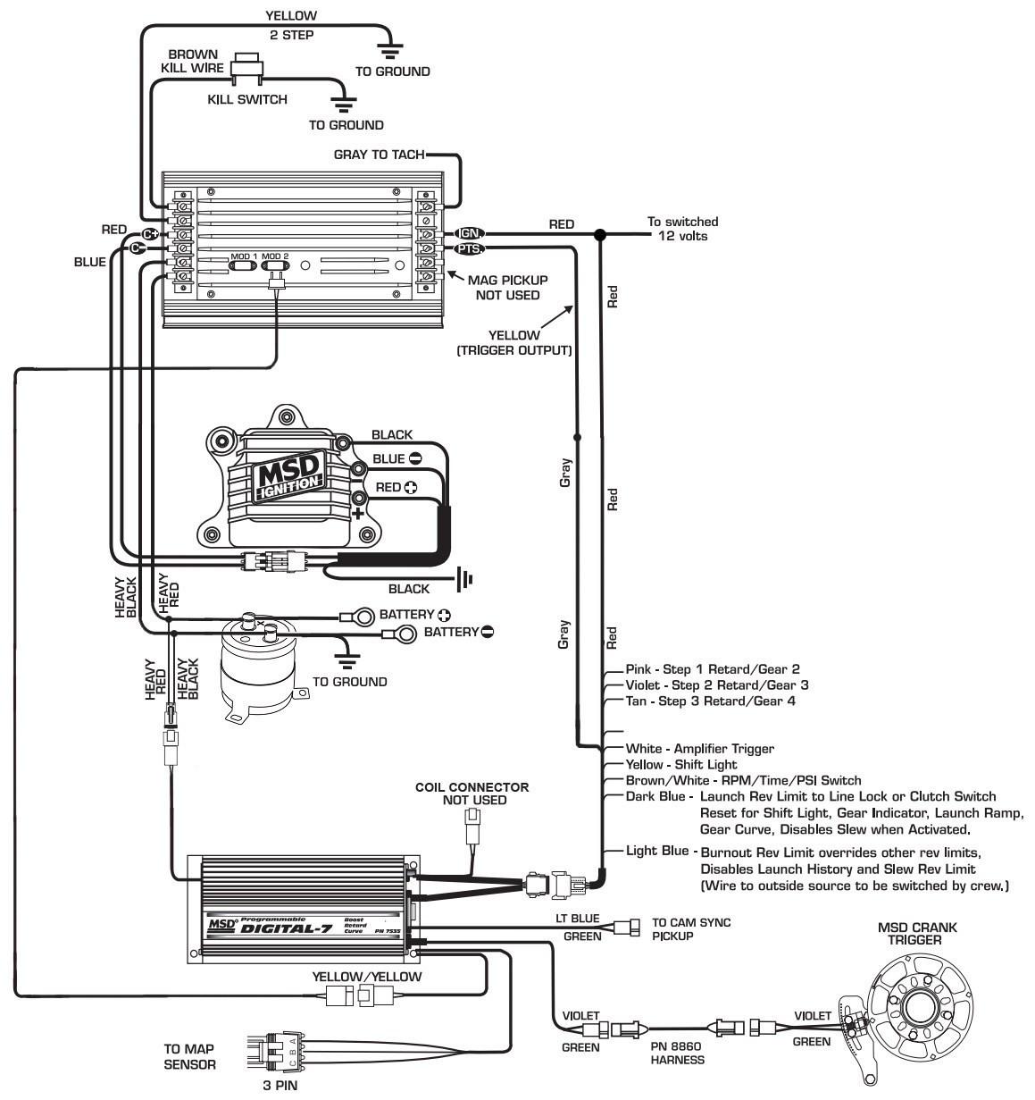 Msd Digital 6al Wiring Diagram Awesome Wire 7