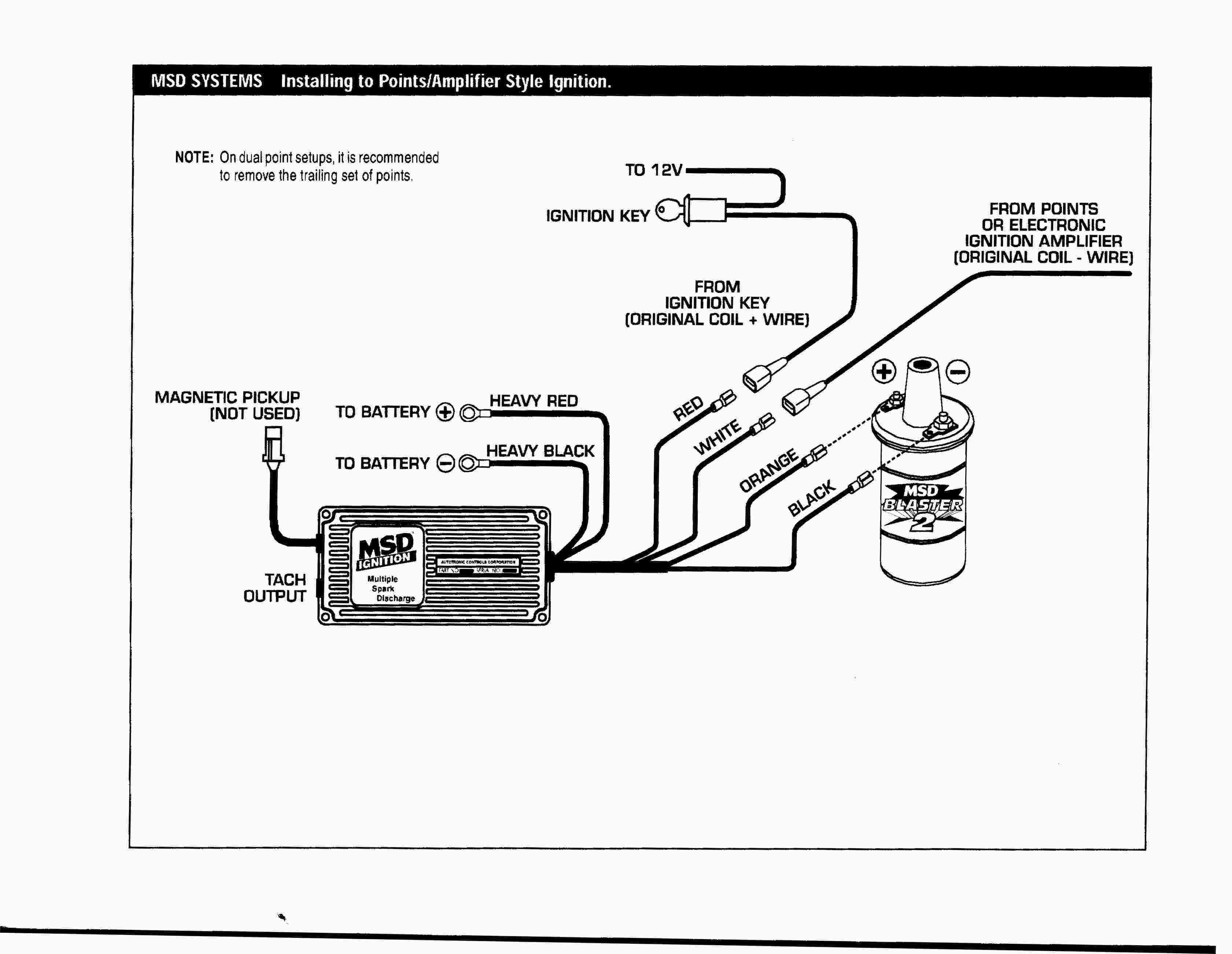 Ignition Key Wiring Diagram Inspirationa New Msd 6al