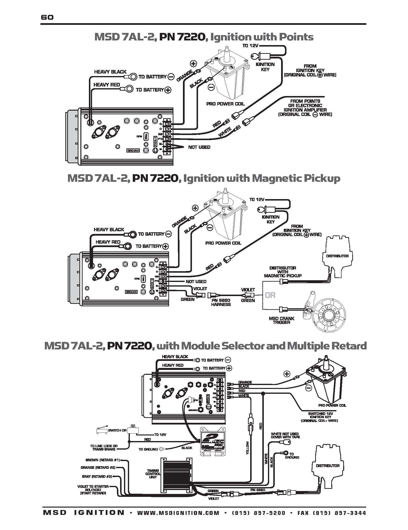 Msd Ignition 6al Wiring Diagram Mopar Hei Chevy Ford Box
