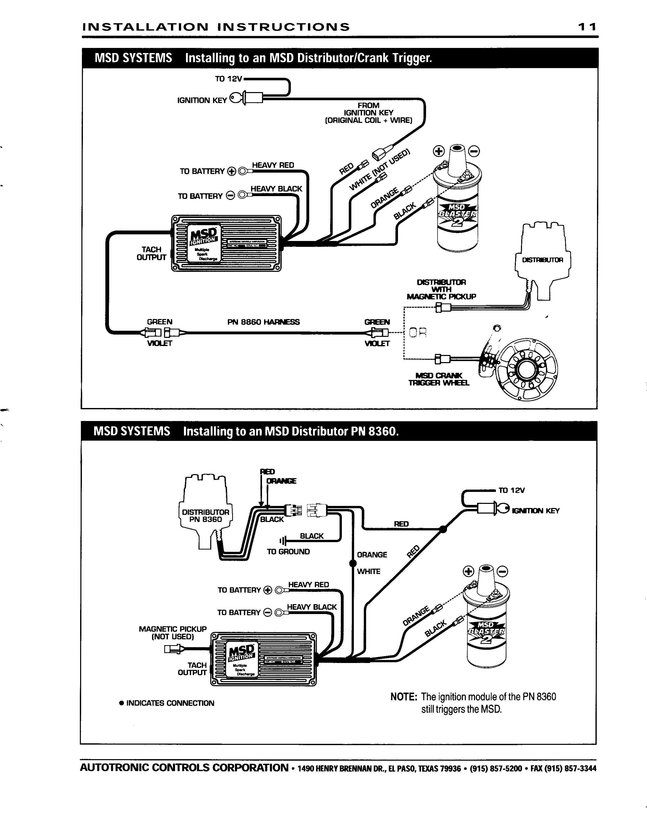 Msd Ignition System Wiring Diagram Save Msd Ignition 6al Wiring Diagram Wiring Diagram •