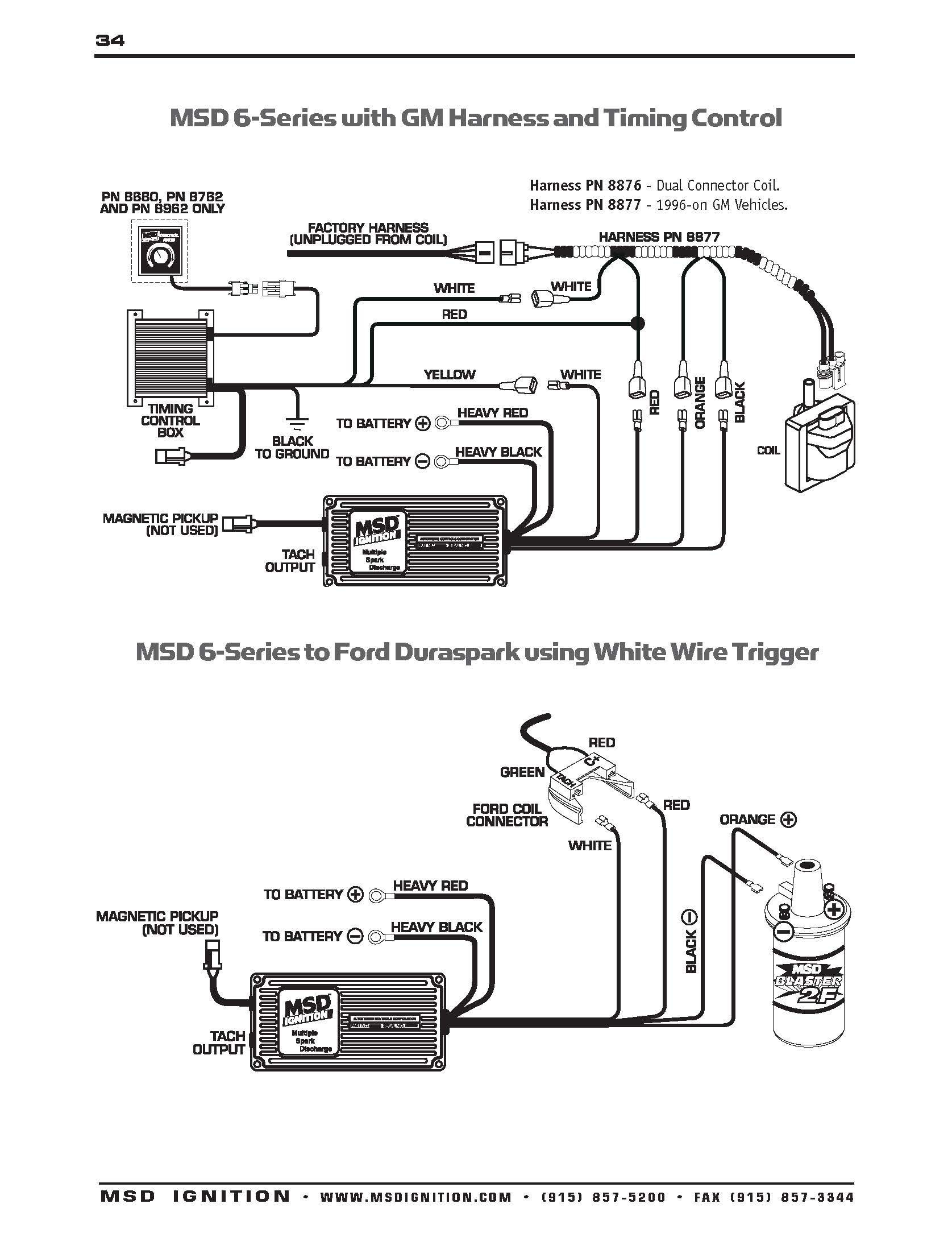 Msd 6al Wiring Diagram Beautiful 350 Chevy Ignition Pleasing