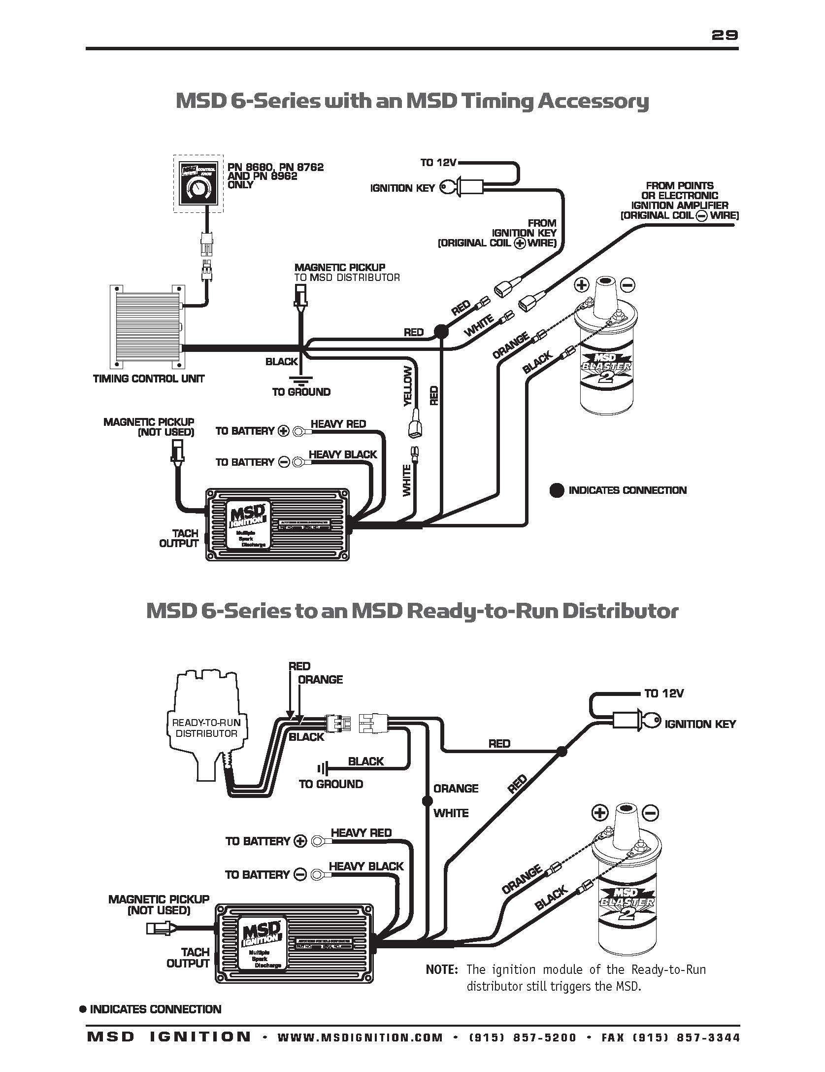 Msd Ignition System Wiring Diagram New Msd Ignition Wiring Diagrams with Distributor Diagram to Wiring