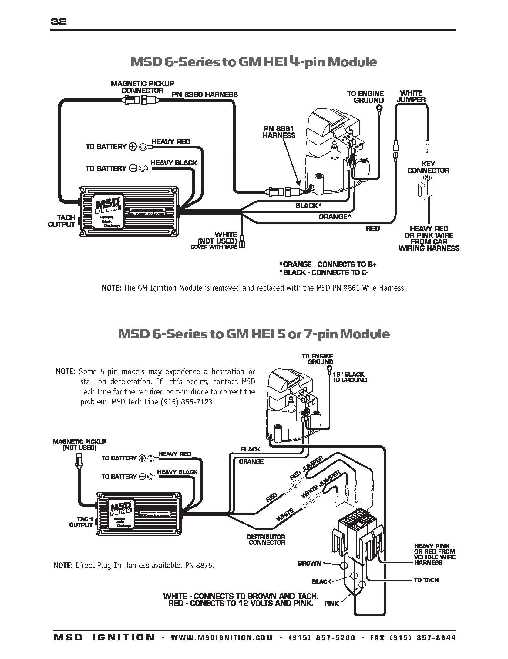 Msd Ignition Box Wiring Diagram
