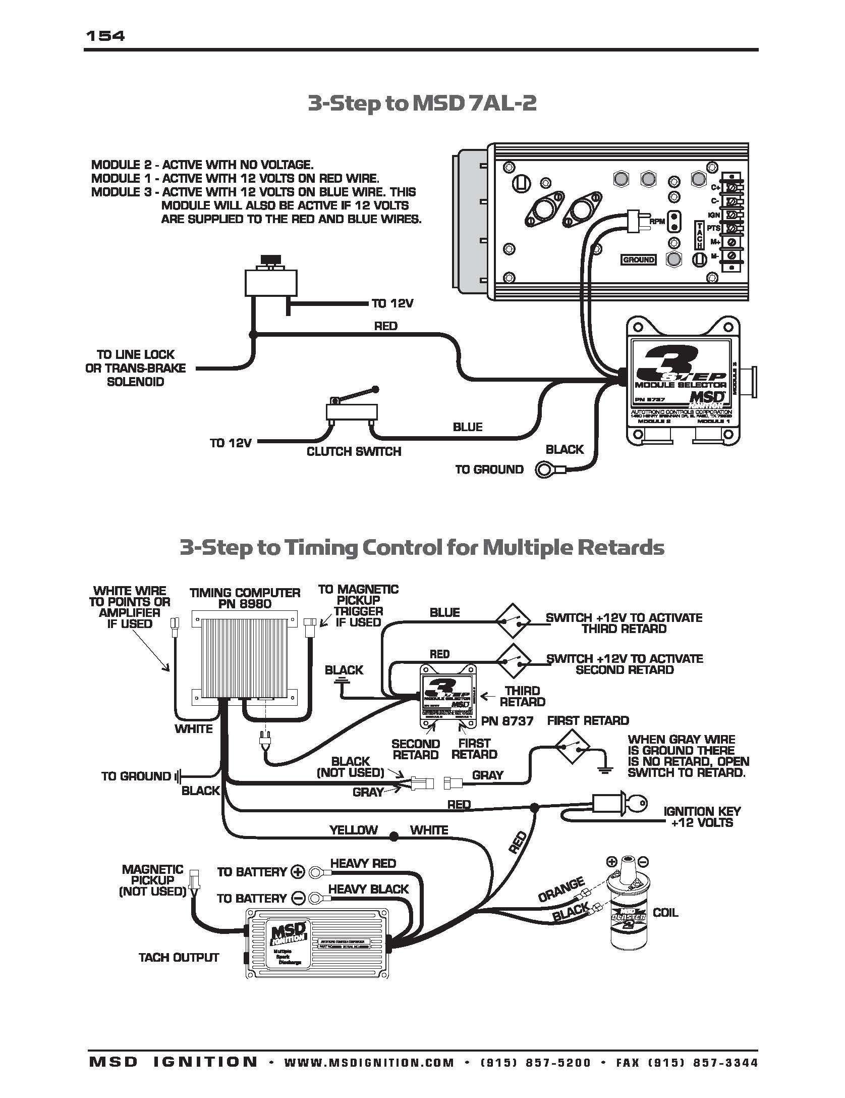 Msd Ignition System Wiring Diagram Inspirationa Msd Ignition Wiring Diagrams Brianesser and Msd 6al Diagram