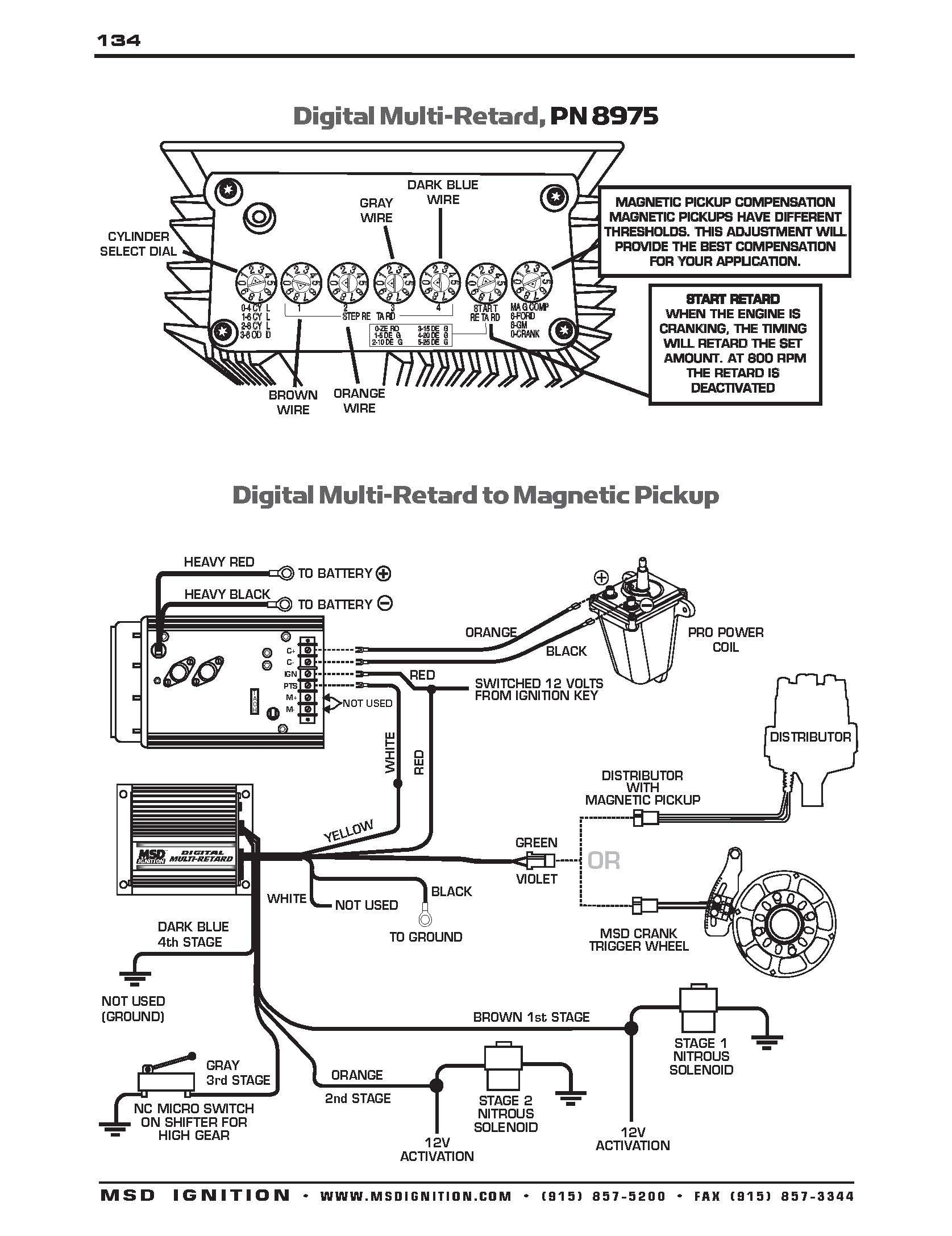 Msd 7 Wiring Diagram Wiring Diagrams