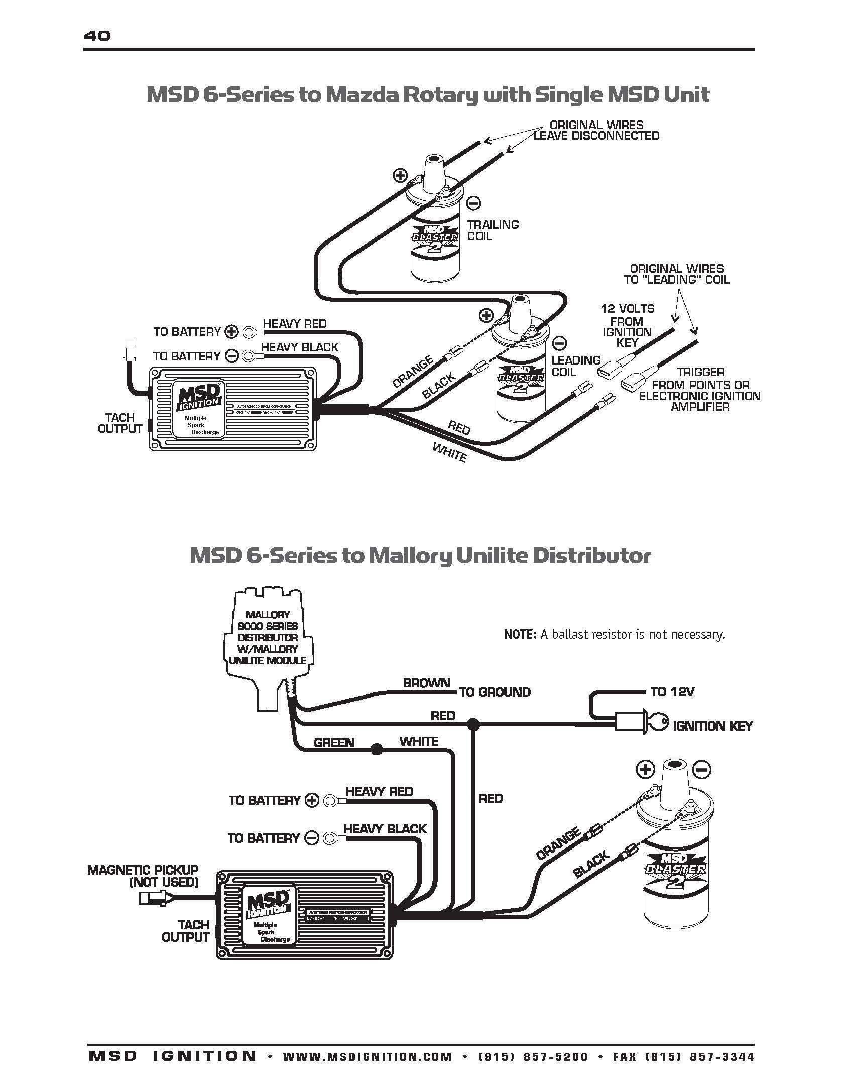 Msd Digital 6al Wiring Diagram Elegant At 6425