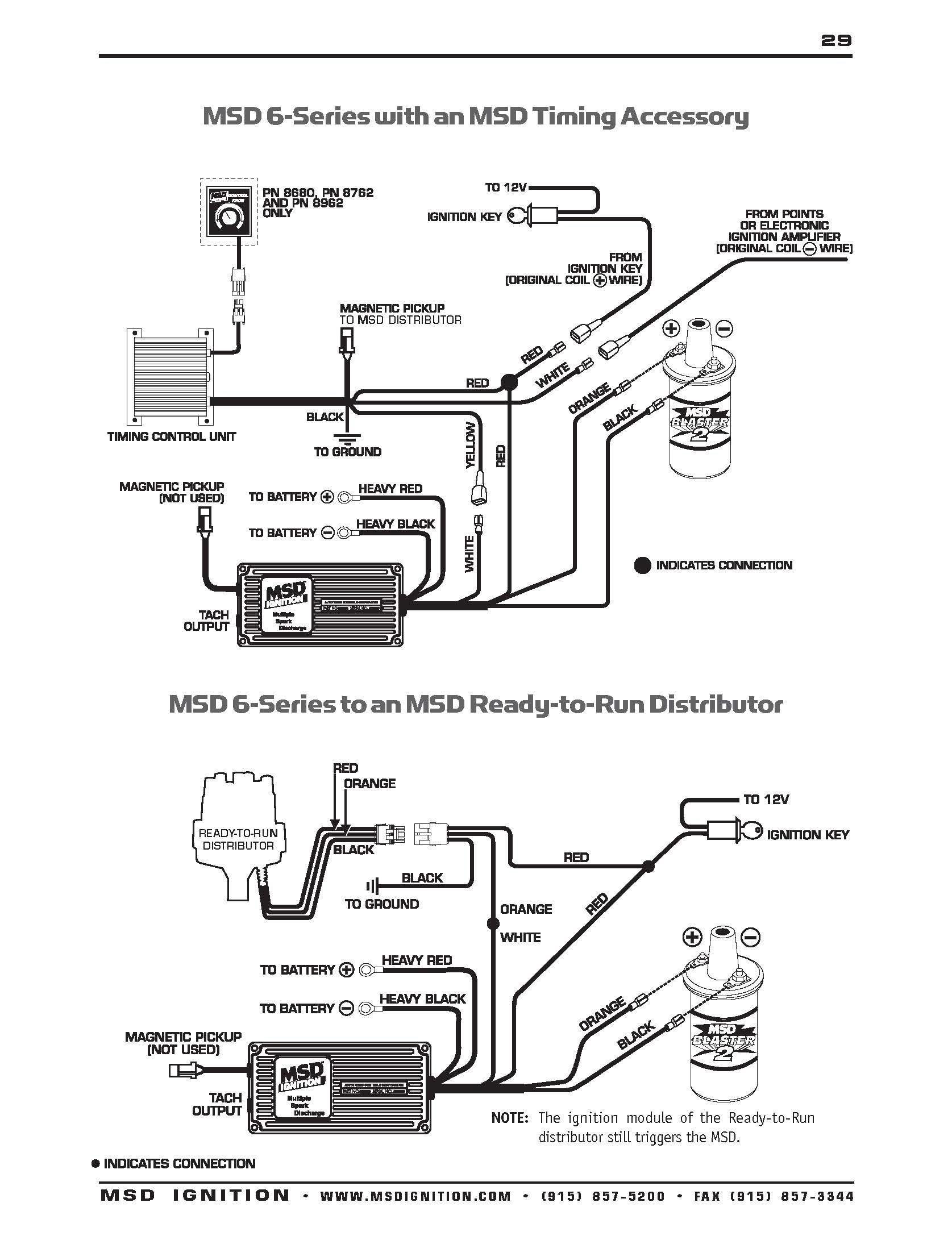 Msd 6al Box Wiring Diagram Natebird Me Stunning