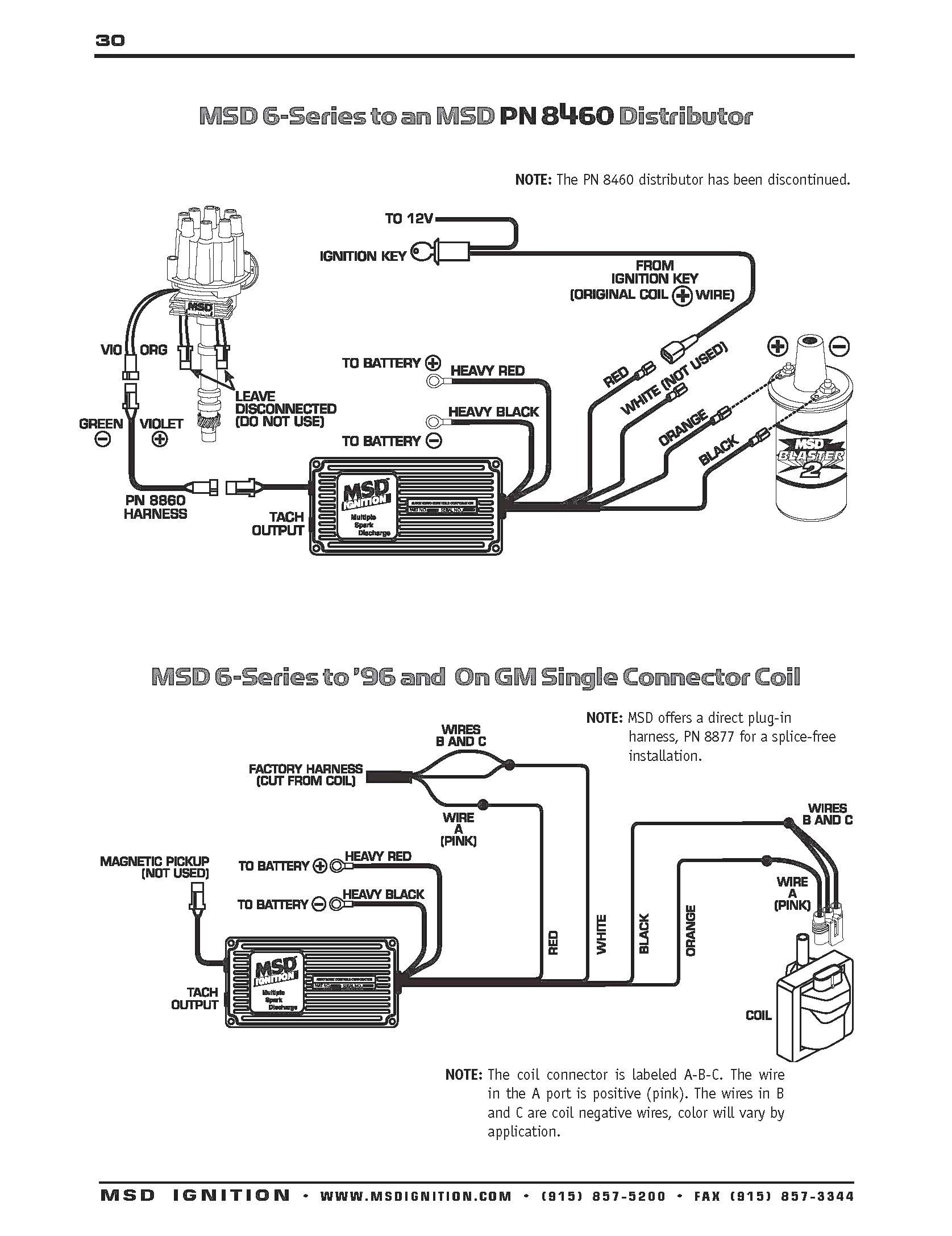 Msd 6al Wiring Diagram Hei New Unique Pro P Distributor Concept Extraordinary
