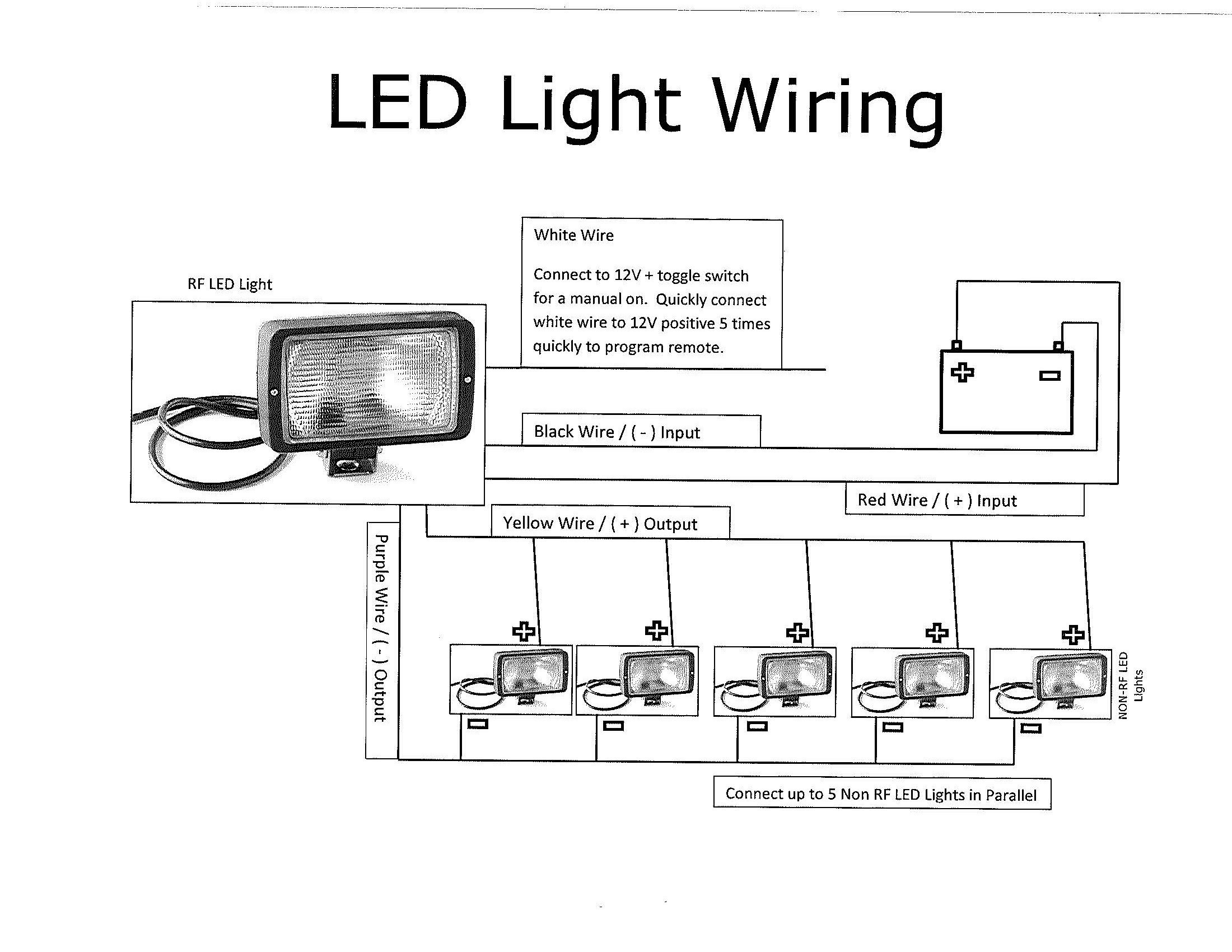 Awesome How to Wire Multiple Lights to e Switch