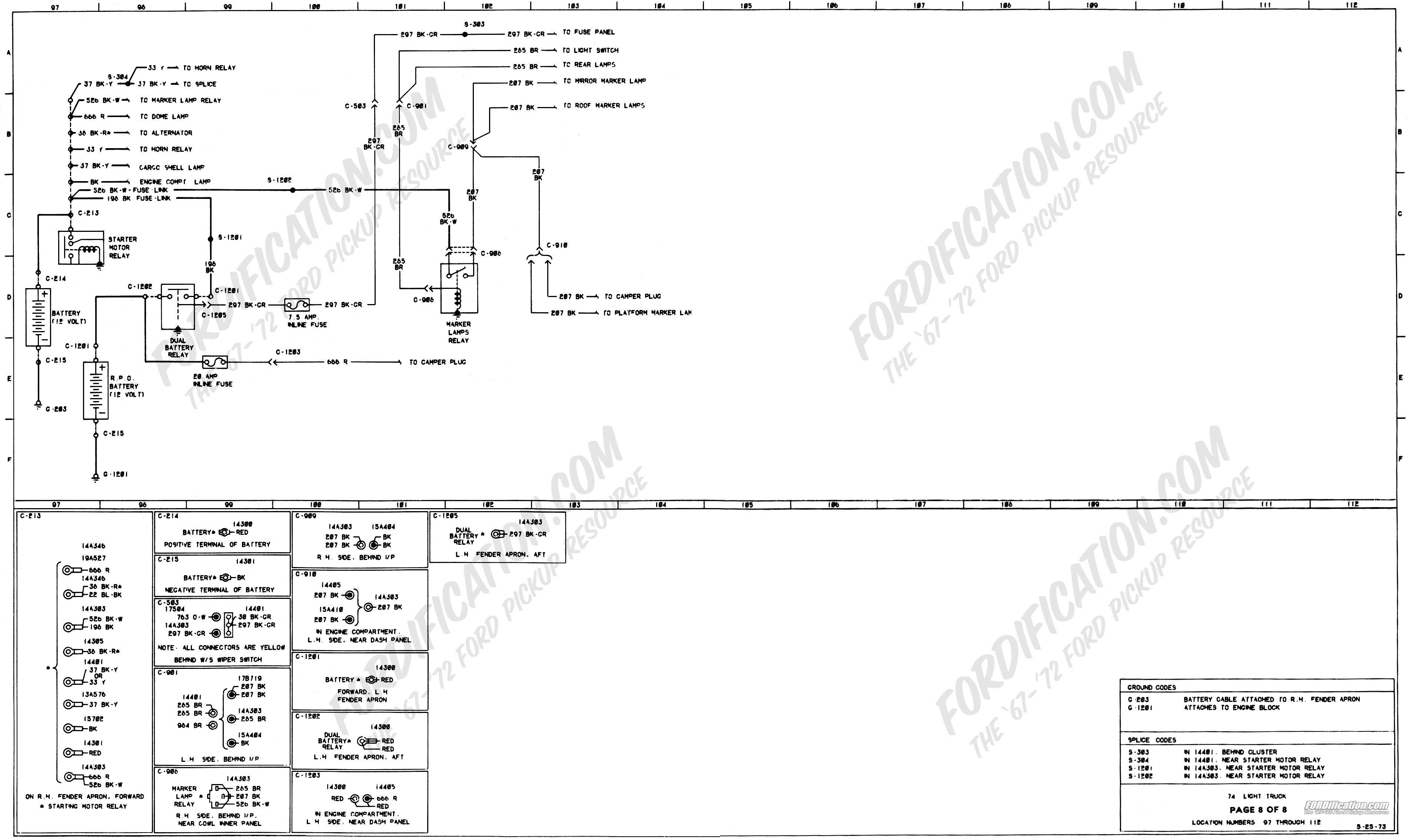 Mustang Starter solenoid Wiring Diagram Fresh 1973 1979 ford Truck Wiring  Diagrams & Schematics fordification