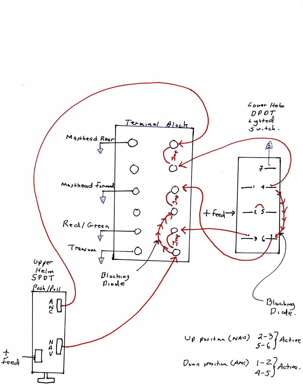 Nav Light Wiring Diagram Wiring Diagram Image