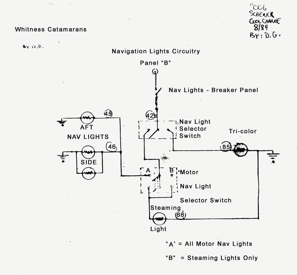 Nav Light Wiring Diagram. Wiring Diagram Navigation Lights A Boat New Anchor Light Nav 1. Wiring. Anchor Navigation Light Wiring Diagram At Scoala.co