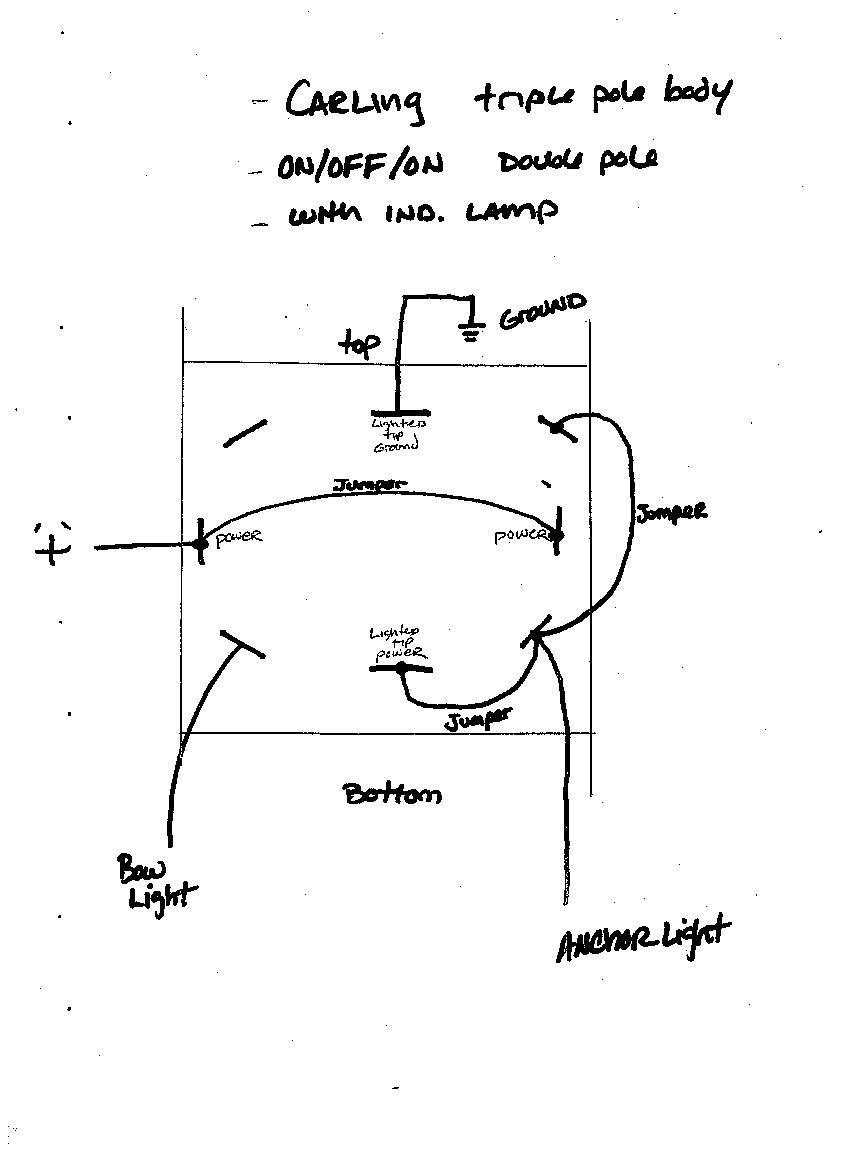 Rocker Switches Fair Navigation Light Switch Wiring Diagram With Mesmerizing