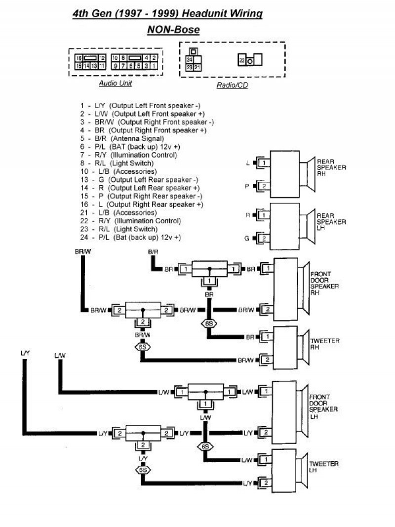 9a3 2006 Nissan Altima Bose Stereo Wiring Diagram Wiring Resources