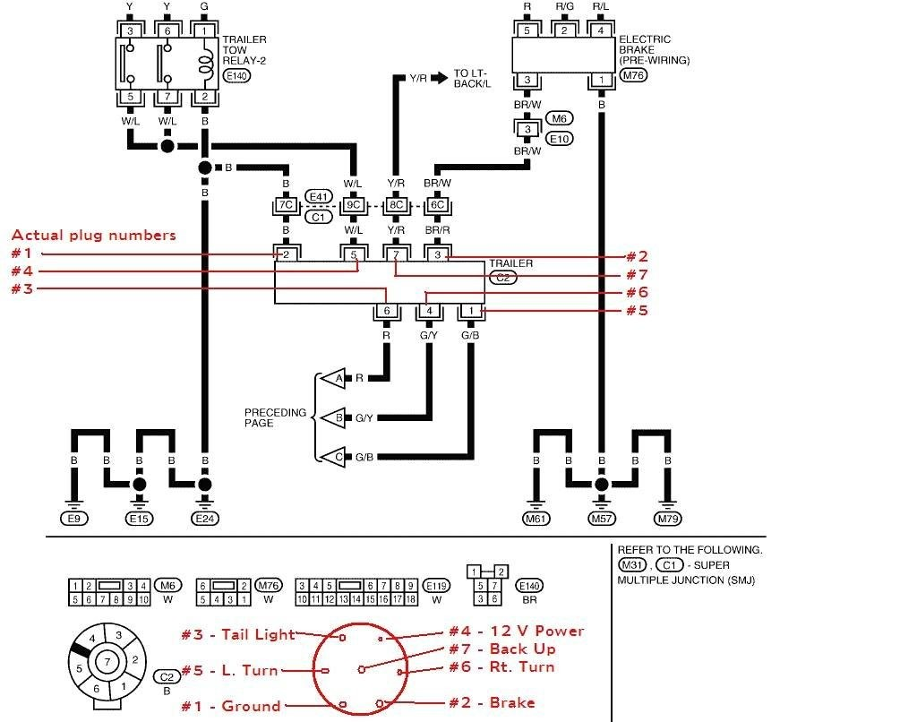 Wiring Harness Of Maine : Ford f tail light wiring harness block and schematic