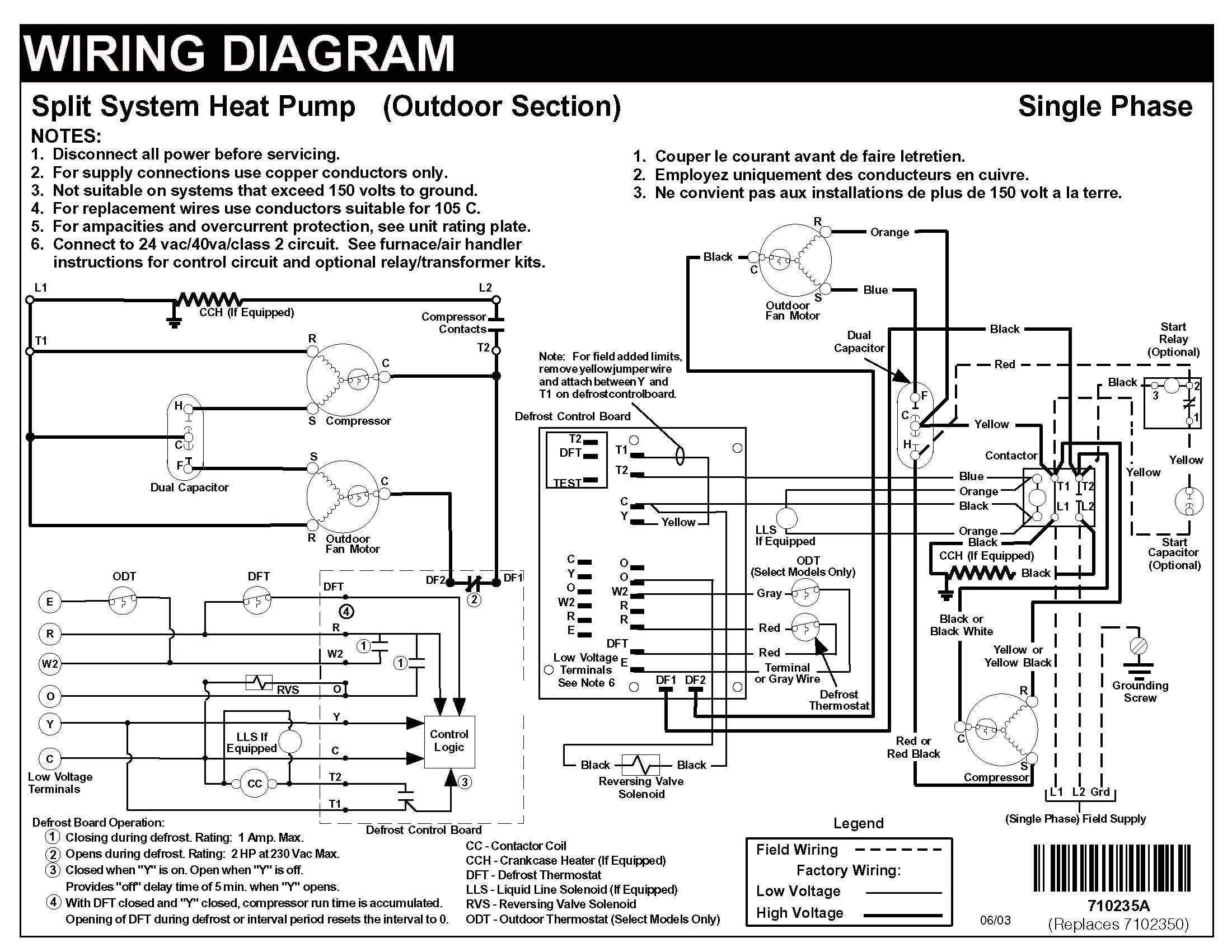 Nordyne Ac Wiring Diagram Fresh Heat Pump Air Conditioner nordyne Heat Pump thermostat Wiring