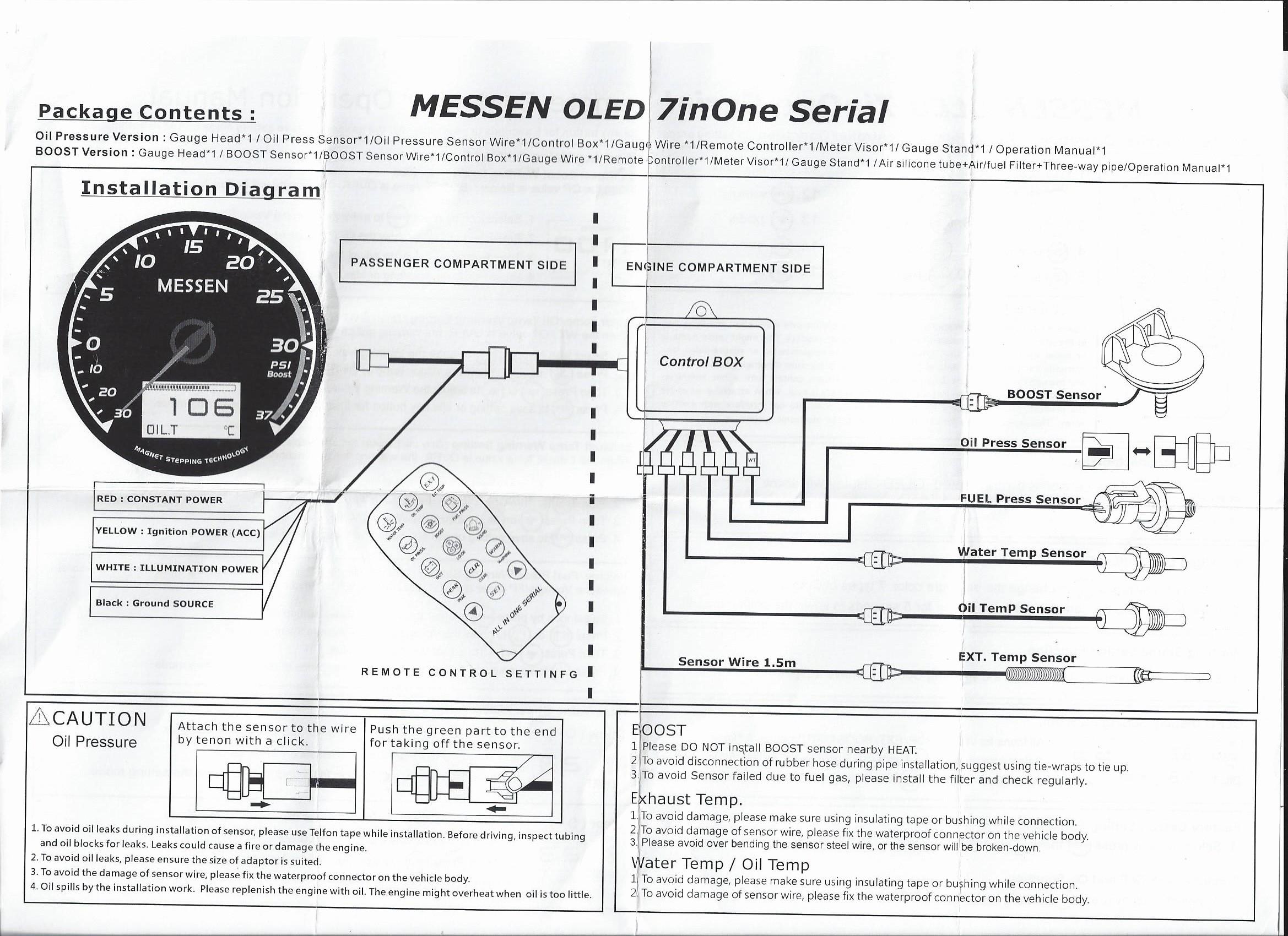 Oil Pressure Switch Wiring Diagram | Wiring Liry on