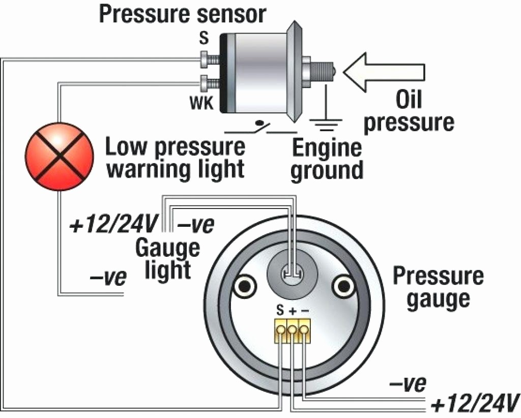 Oil Pressure Sender Wiring Diagram Diagrams Scematic Temperature Rpm Vdo Gauges Library Switch