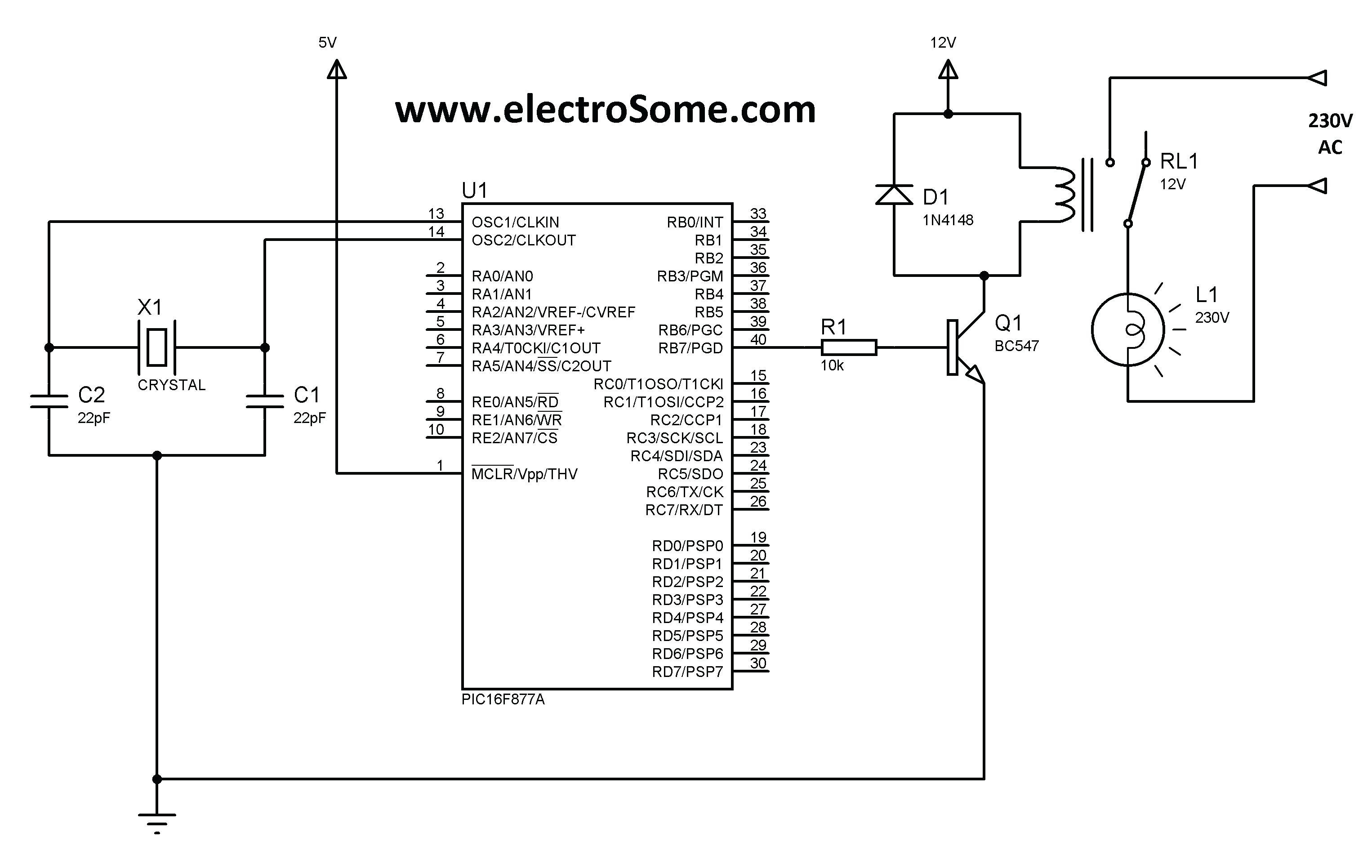 Wiring Diagram for A Relay to A Switch Save Relay Switch Wiring Diagram Ac &