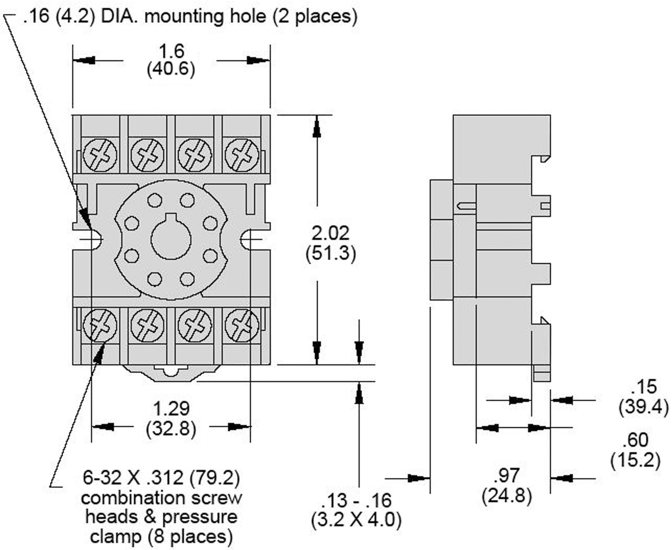 11 Pin Relay Base Diagram Detailed Schematic Diagrams Socket Wiring Schematics U2022 8