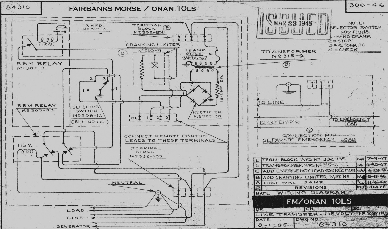 Wiring Diagram Onan Genset Emerald 1 - Data Wiring Diagram Today
