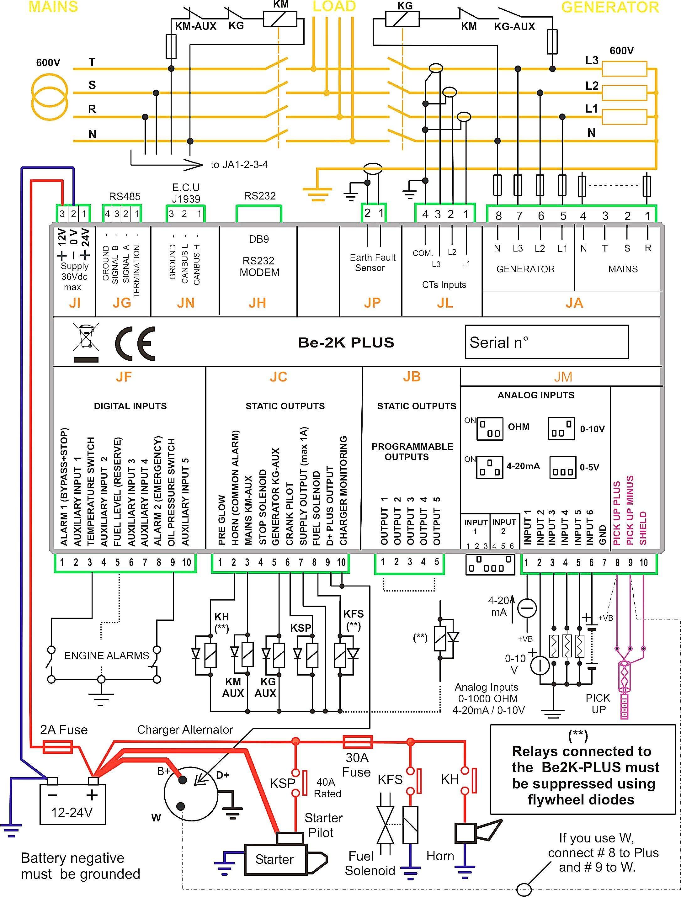 Wiring Diagram an Generator Inspirationa Erfreut An Generator Schaltplan Frei Zeitgenössisch Elektrische