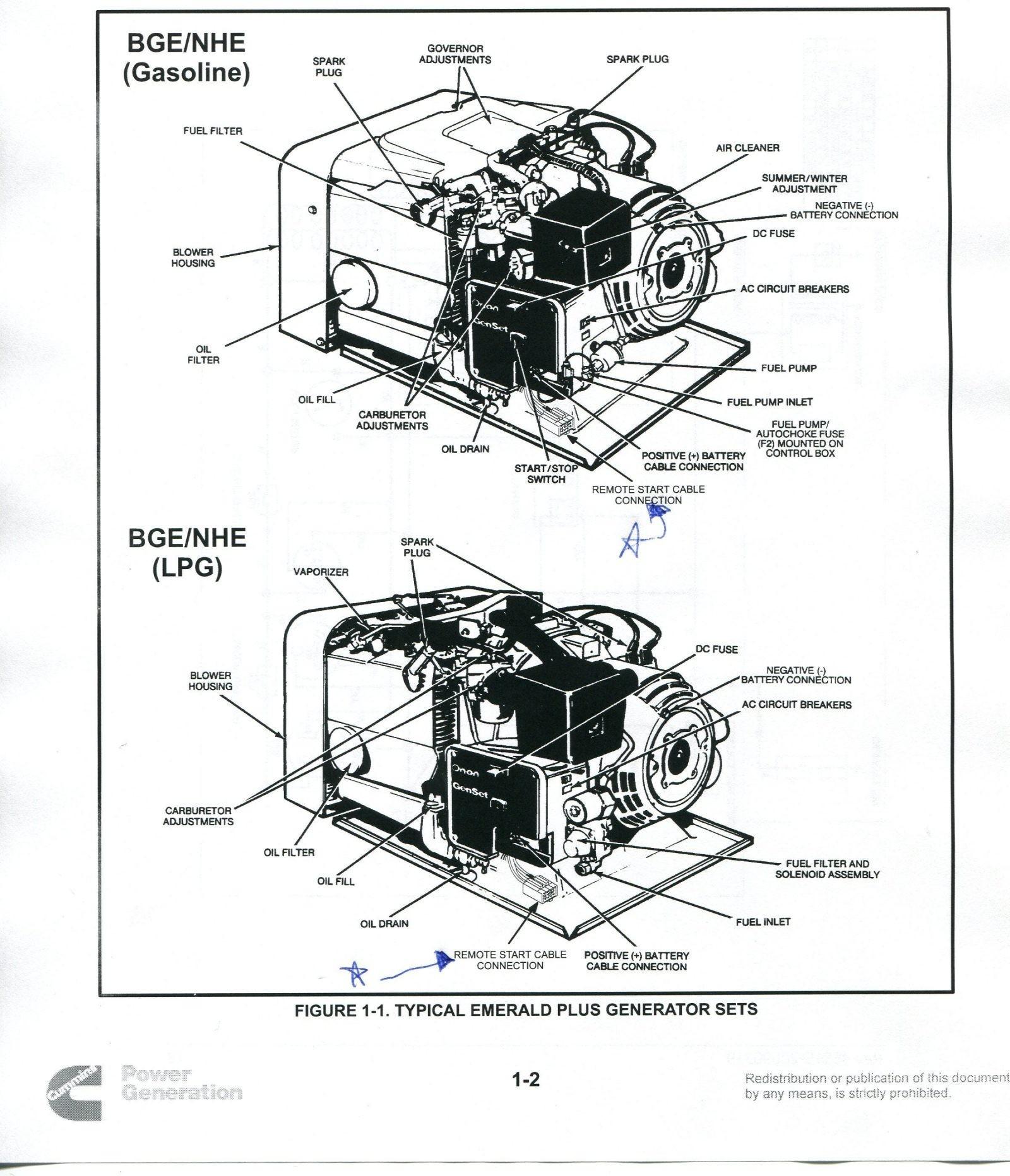 onan 5500 hgjab generator wiring diagram
