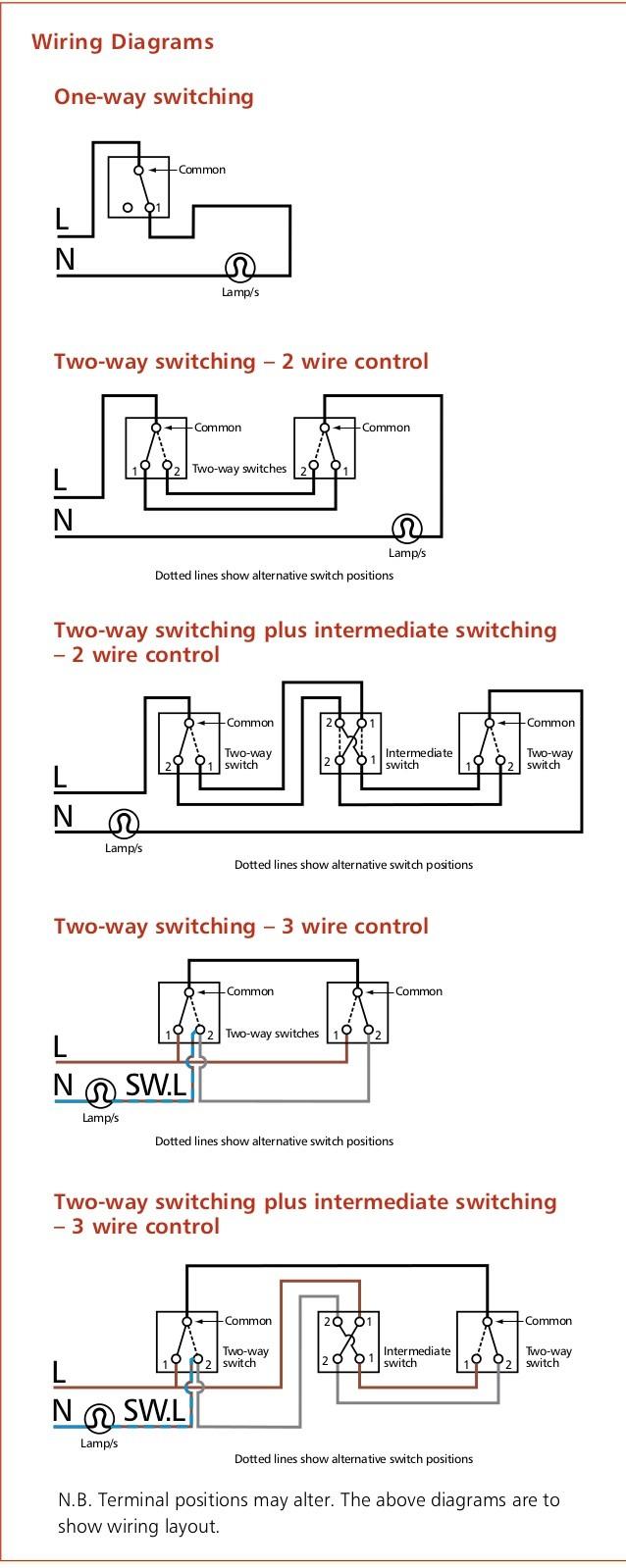 e Way Lighting Circuit Wiring Diagram And sensecurity