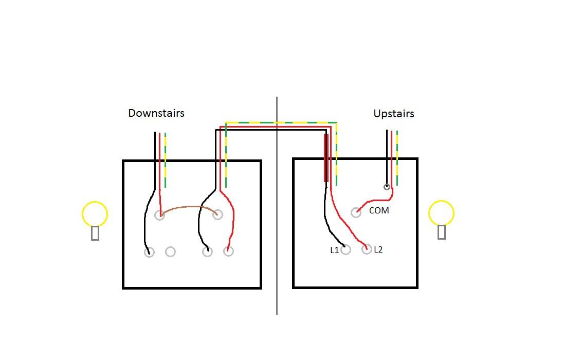 Multi Point Loop In Radial Lighting Circuit Wood Work And Diy Best