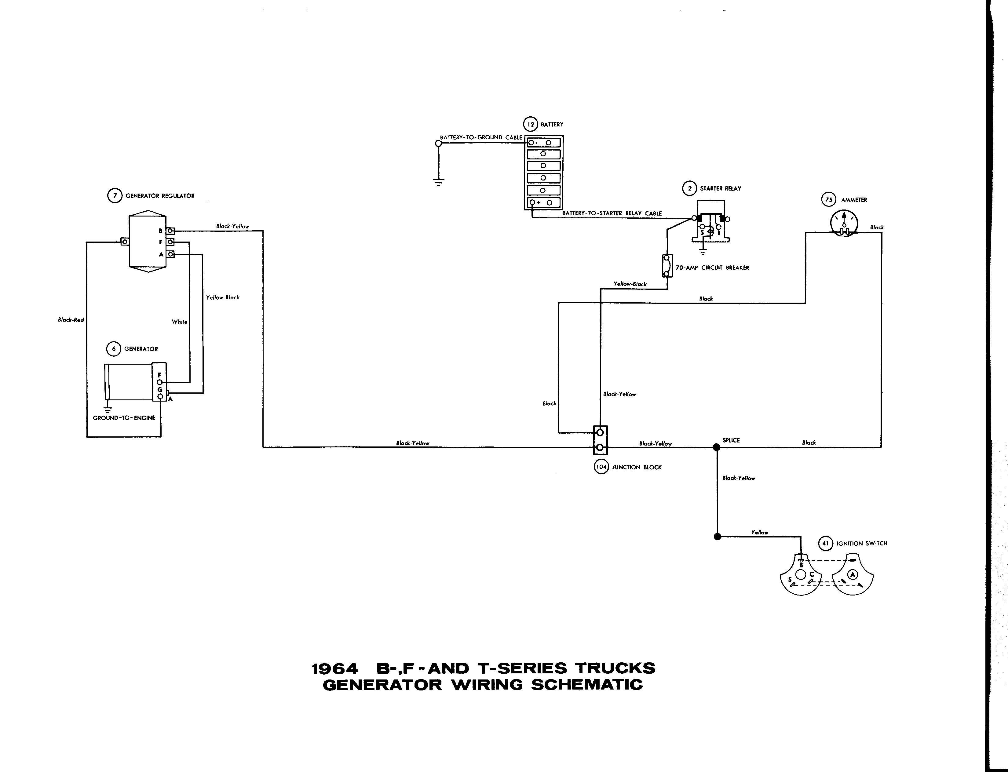 Ford One Wire Alternator Wiring | Wiring Liry One Wire Alternator Schematic on