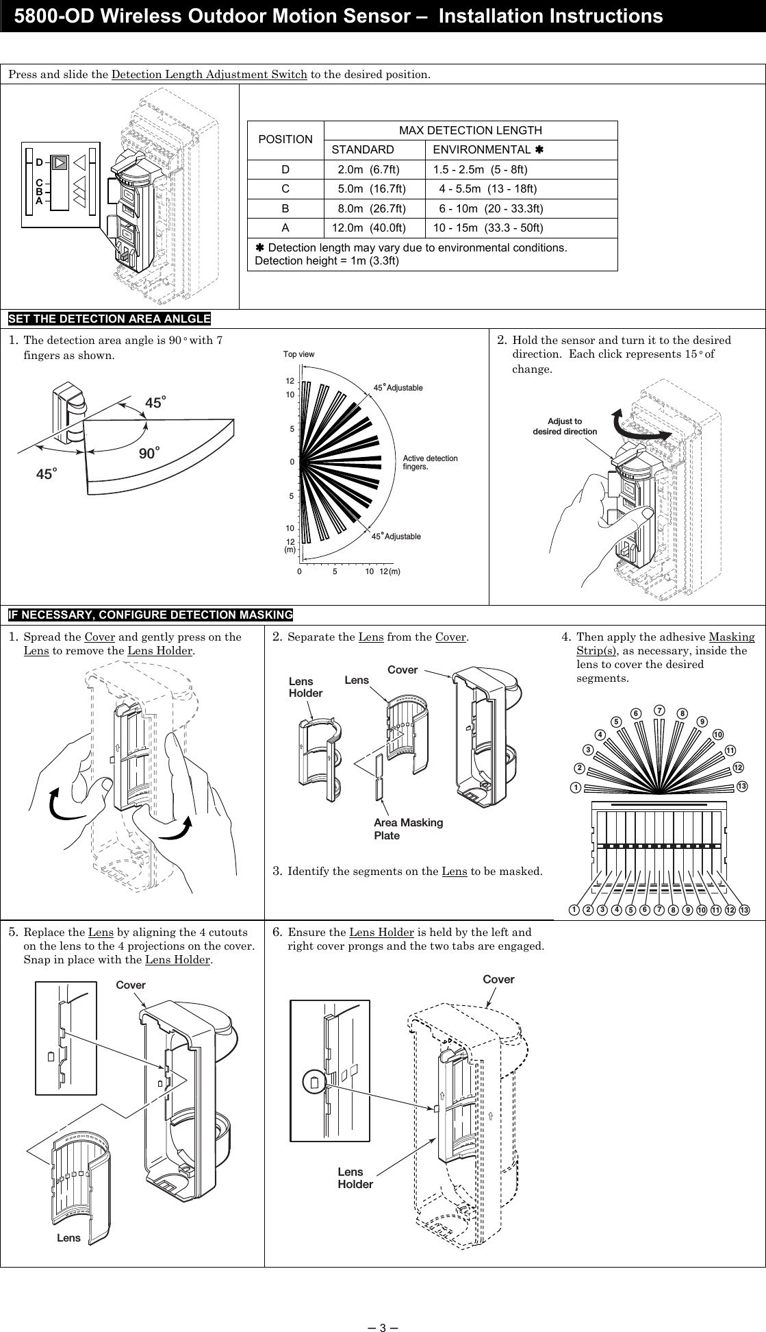 Wiring Diagram for Security Light with Pir Best Wiring Diagram for Alarm Pir New 8dl5800pir Od