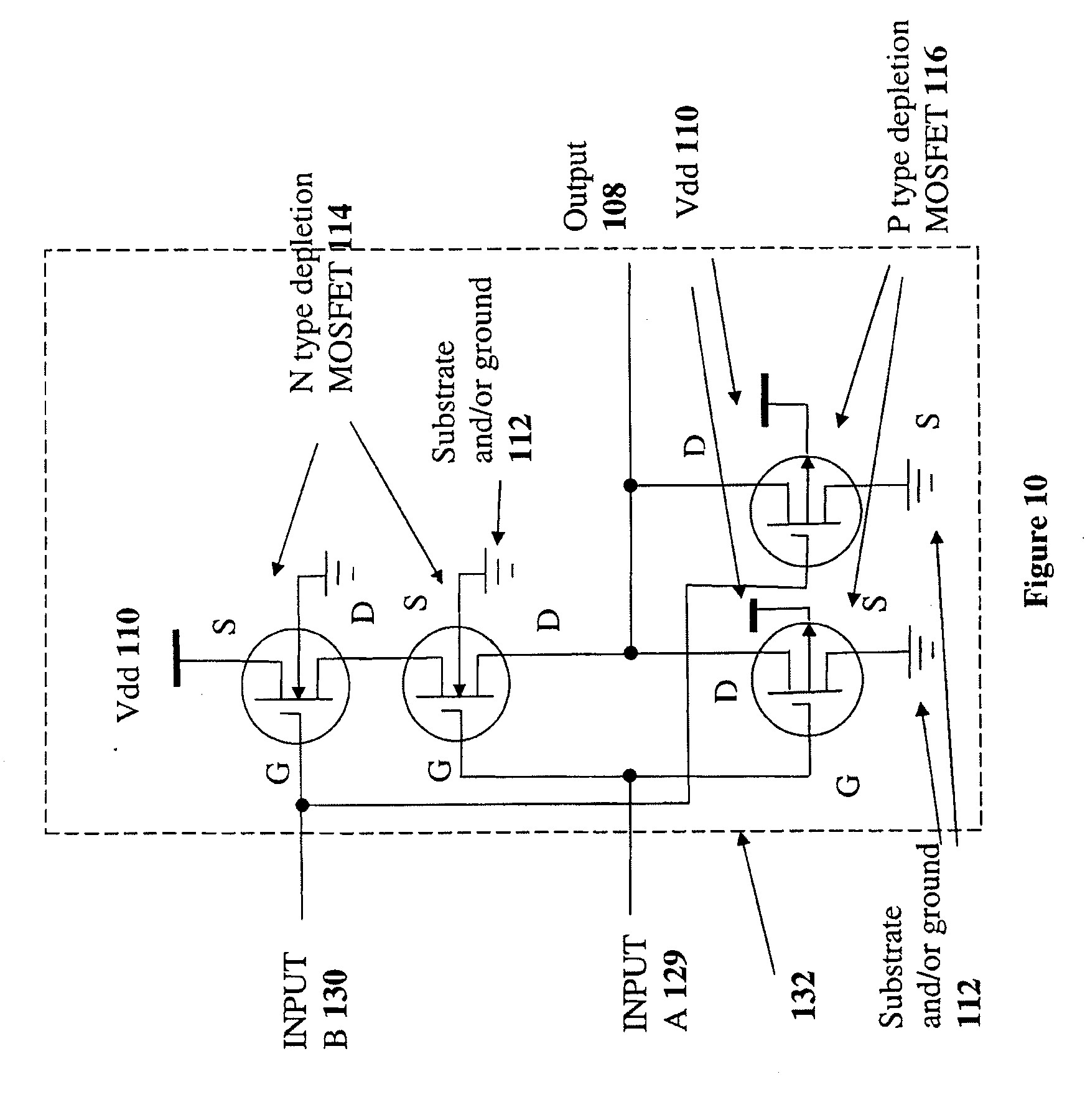 Glamorous Patent Us Depletion Mode Mosfet Circuit And Pdf Usa D Full size